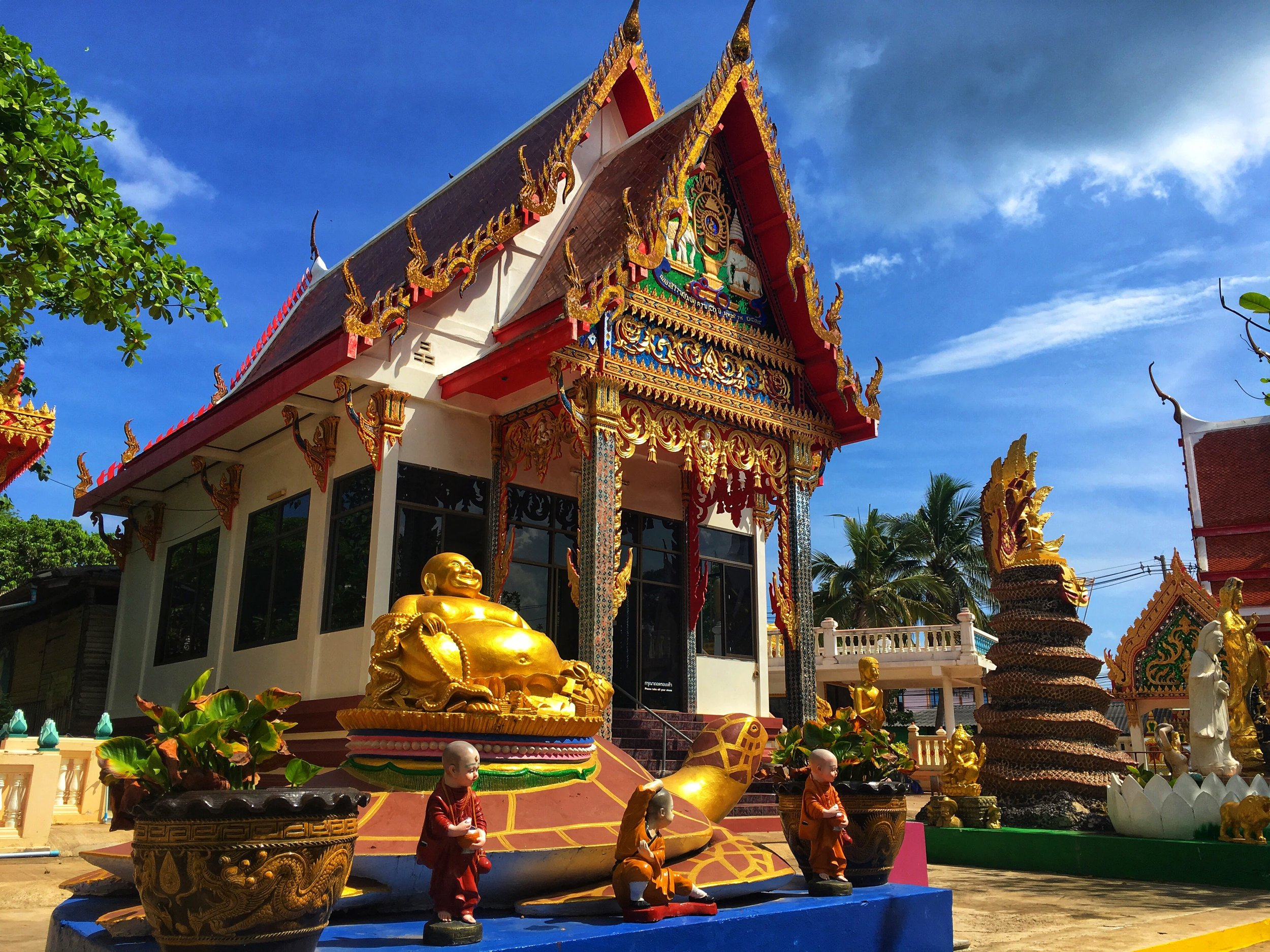 Wat Koh Larn, on Koh Larn Island, just off the coast of Pattaya, Thailand