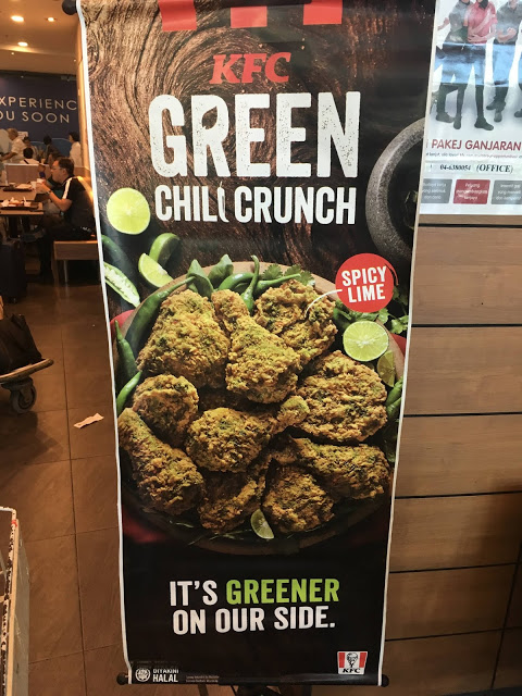 KFC Green Chili Crunch from KFC Malaysia