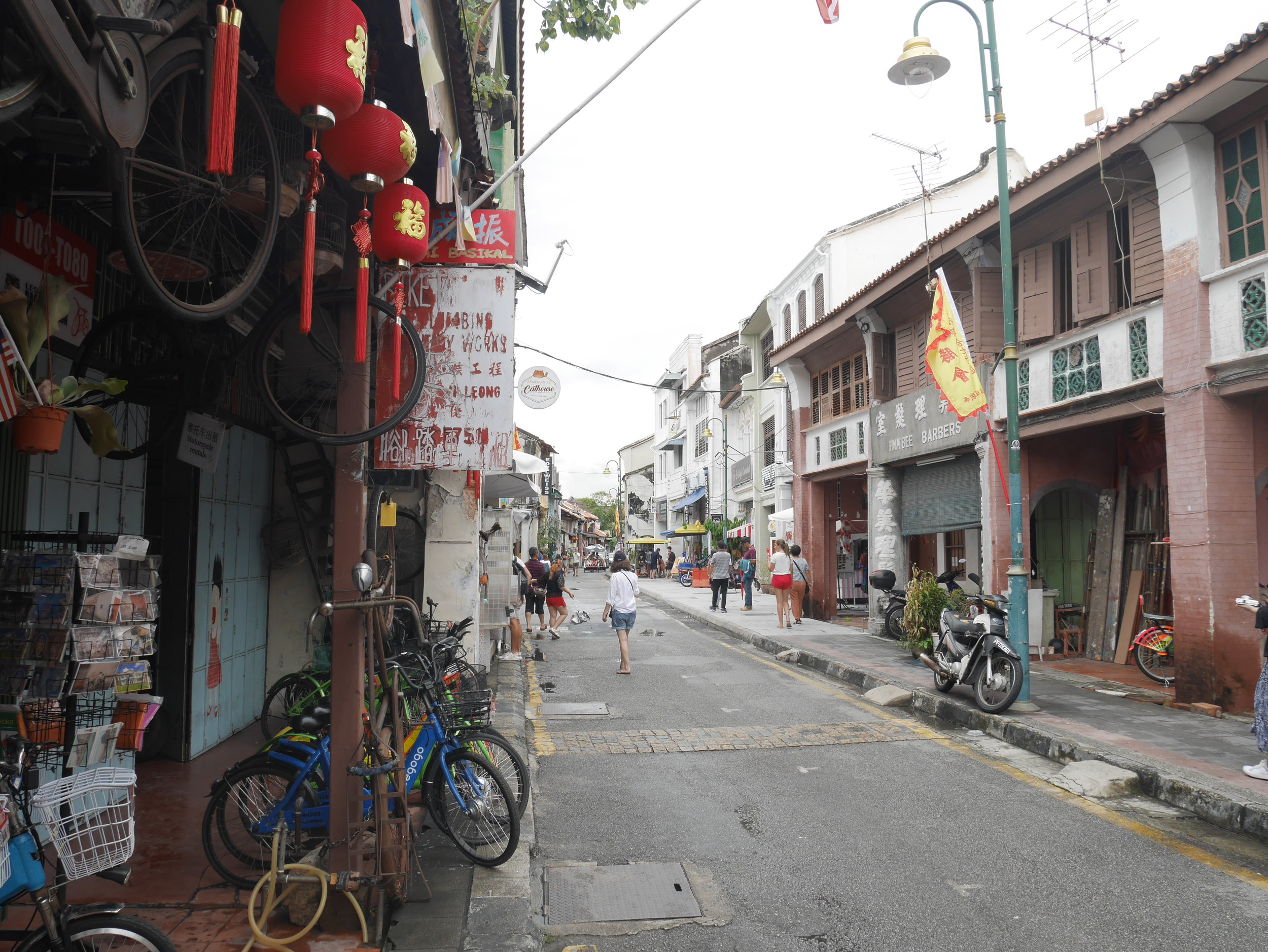 Penang's colonial Old Town is a recognized UNESCO World Heritage City