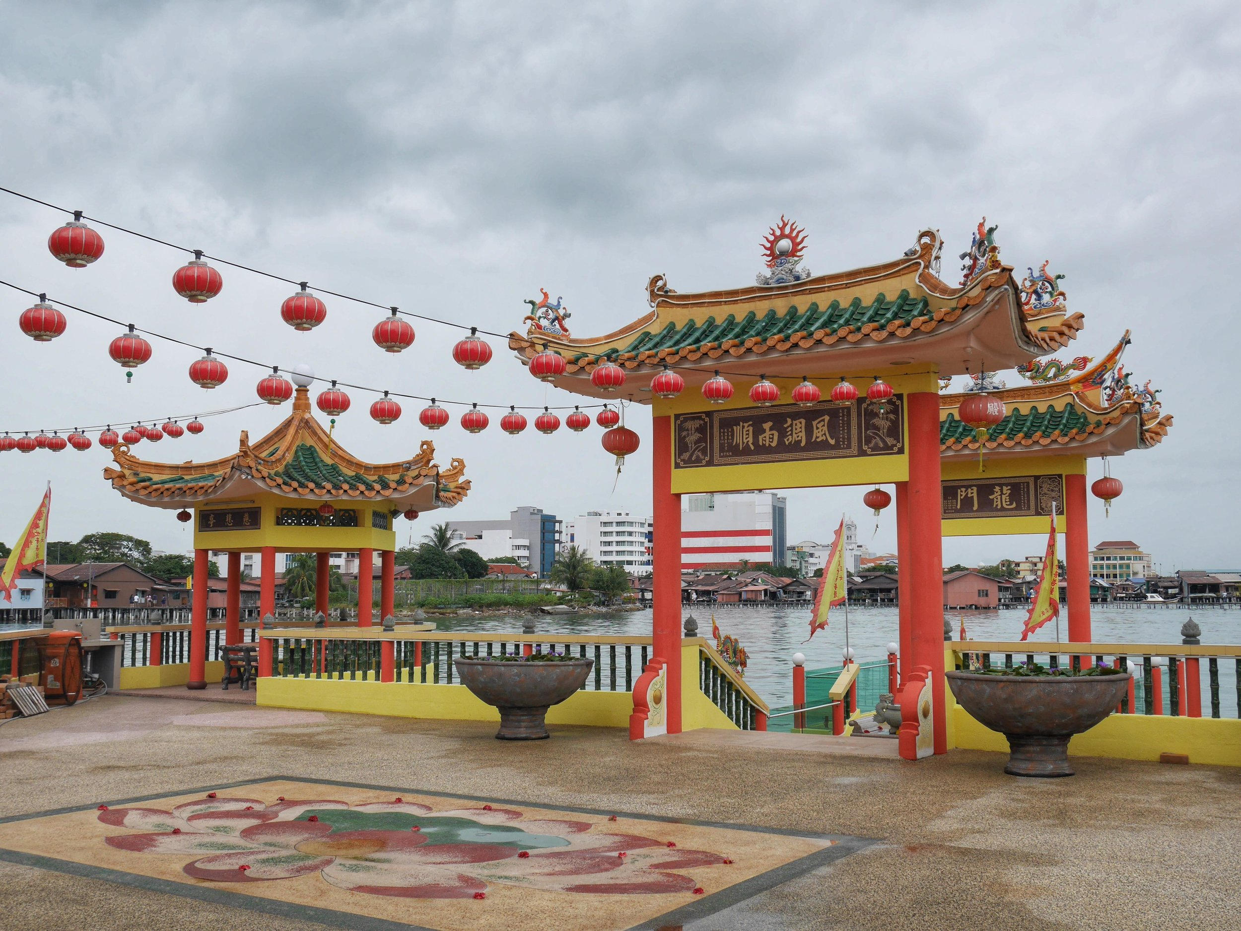 Hean Boo Thean Buddhist Temple is one of the many religious sites in Penang