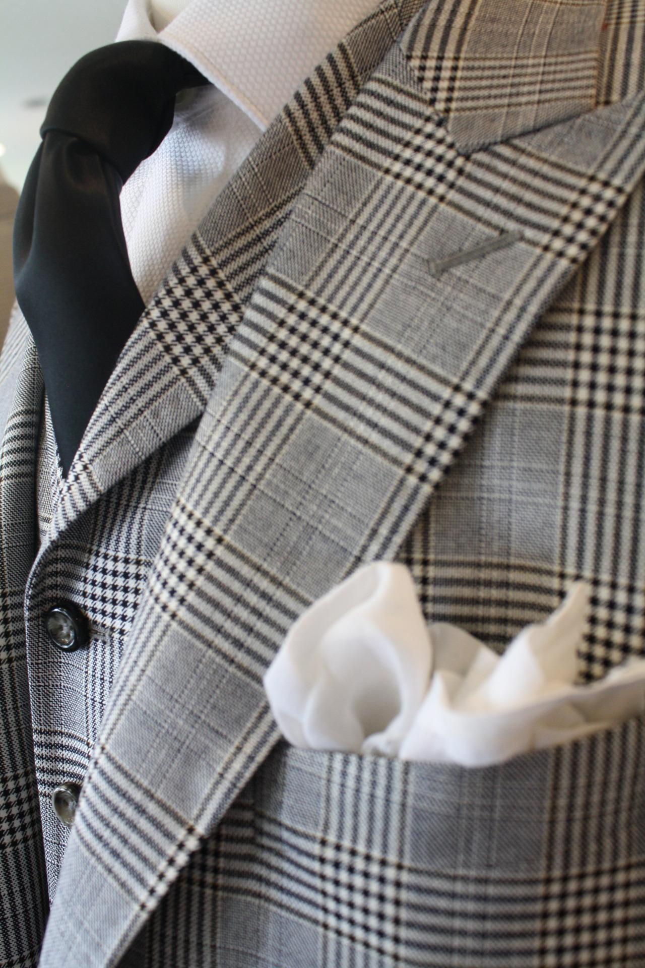 stitch it co gray plaid custom suit