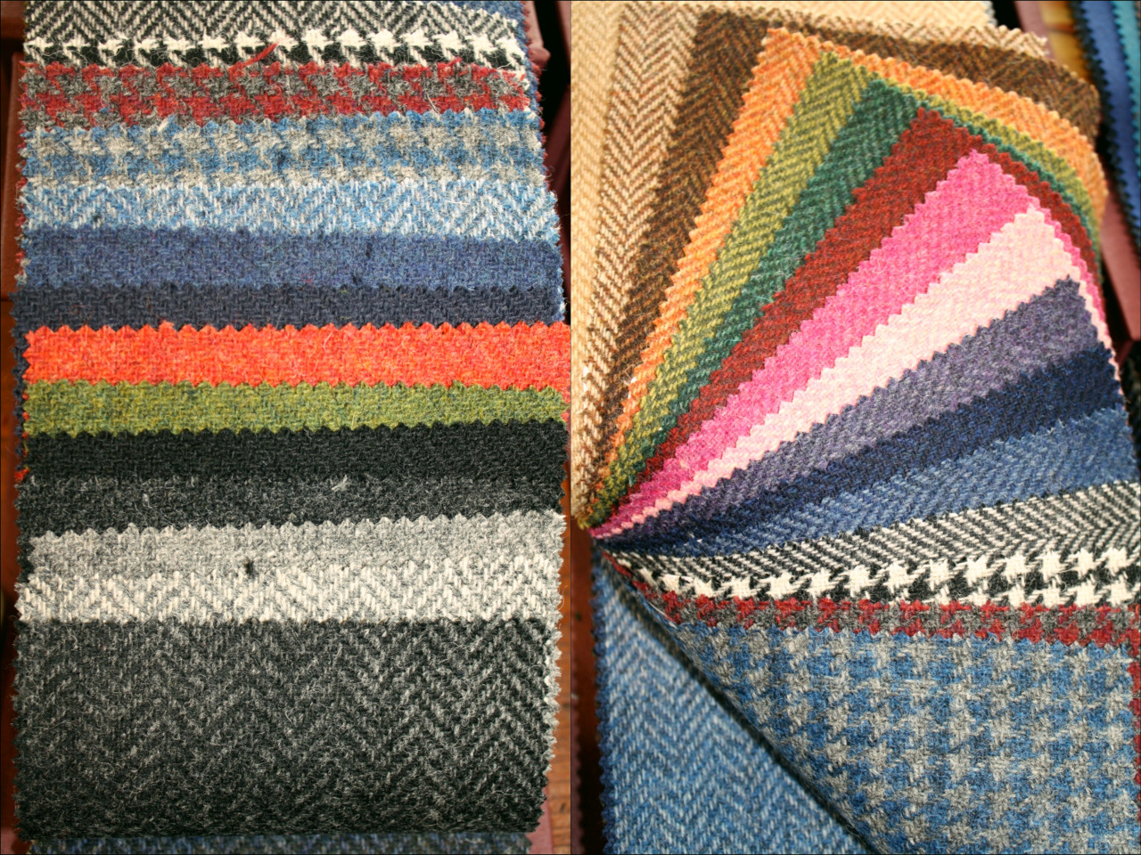 Scottland Fall Fabric swatches