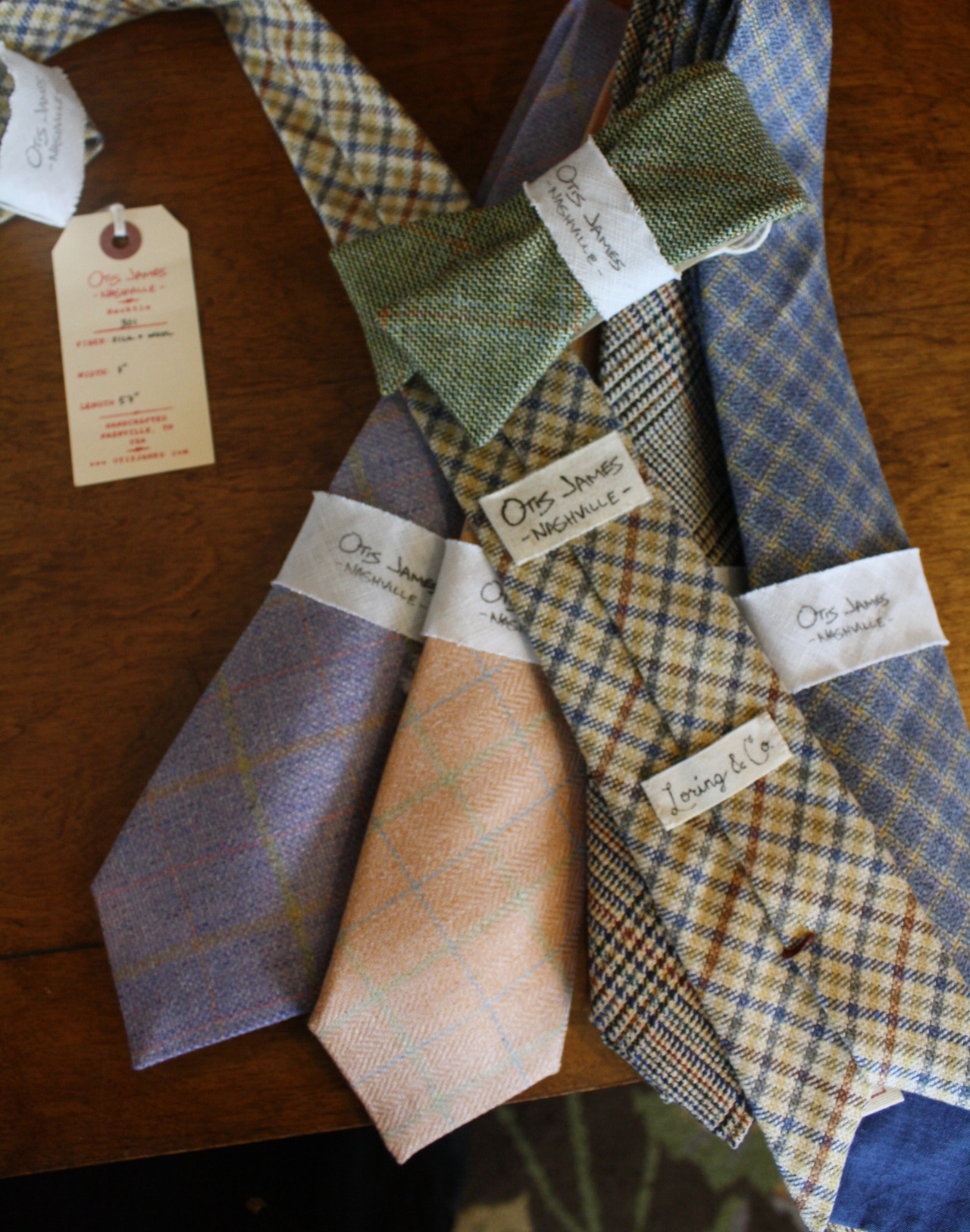 otis james ties and bowties