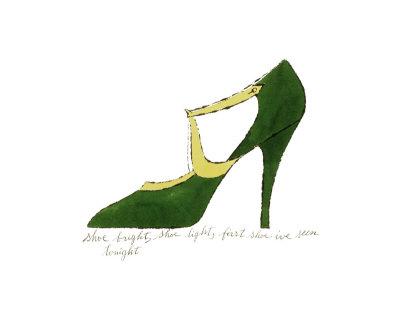 """Andy Warhol """"Shoe"""""""