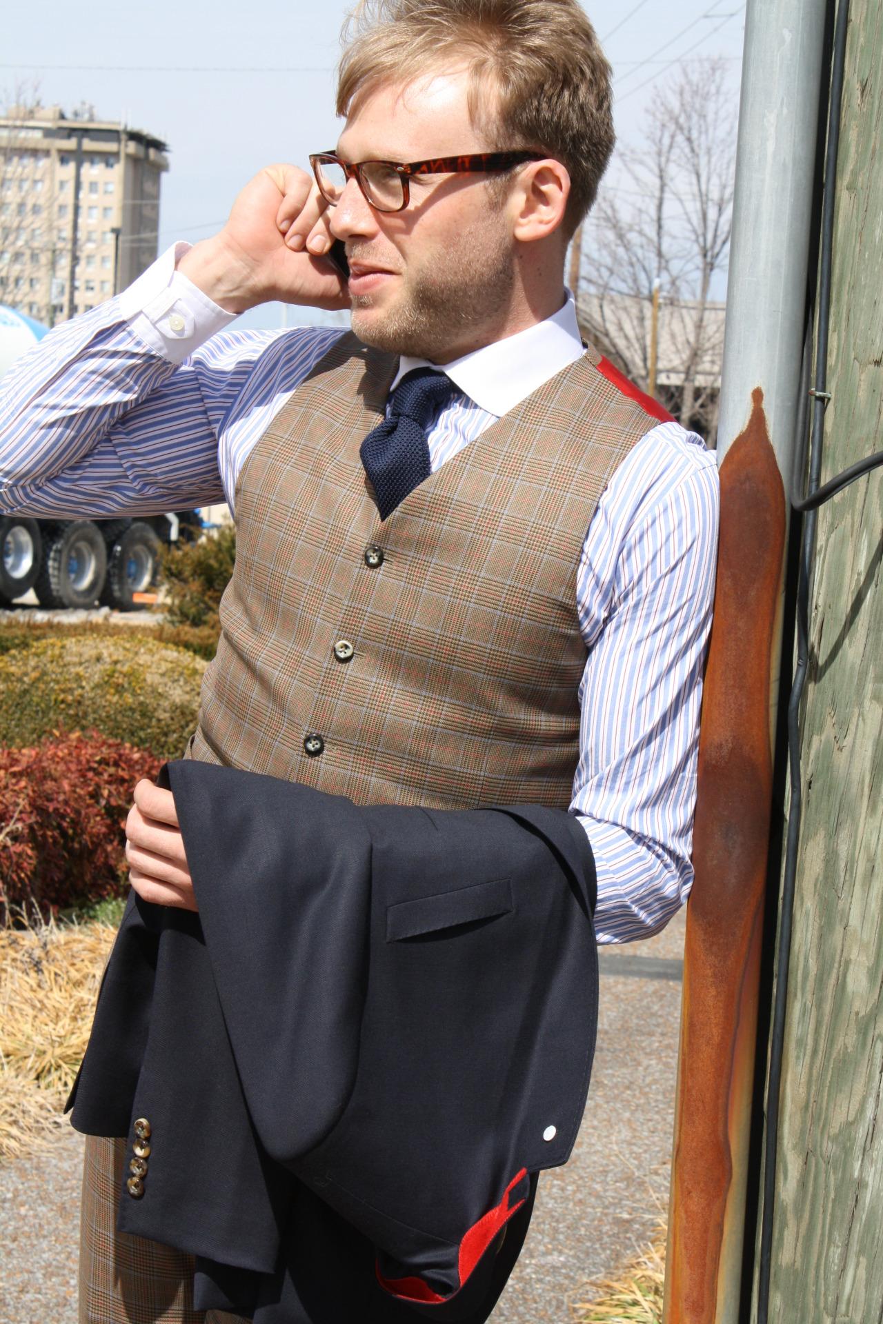 travel bespoke blazer