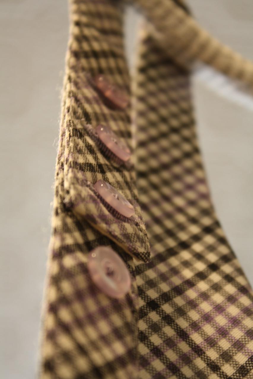bespoke tie buttons