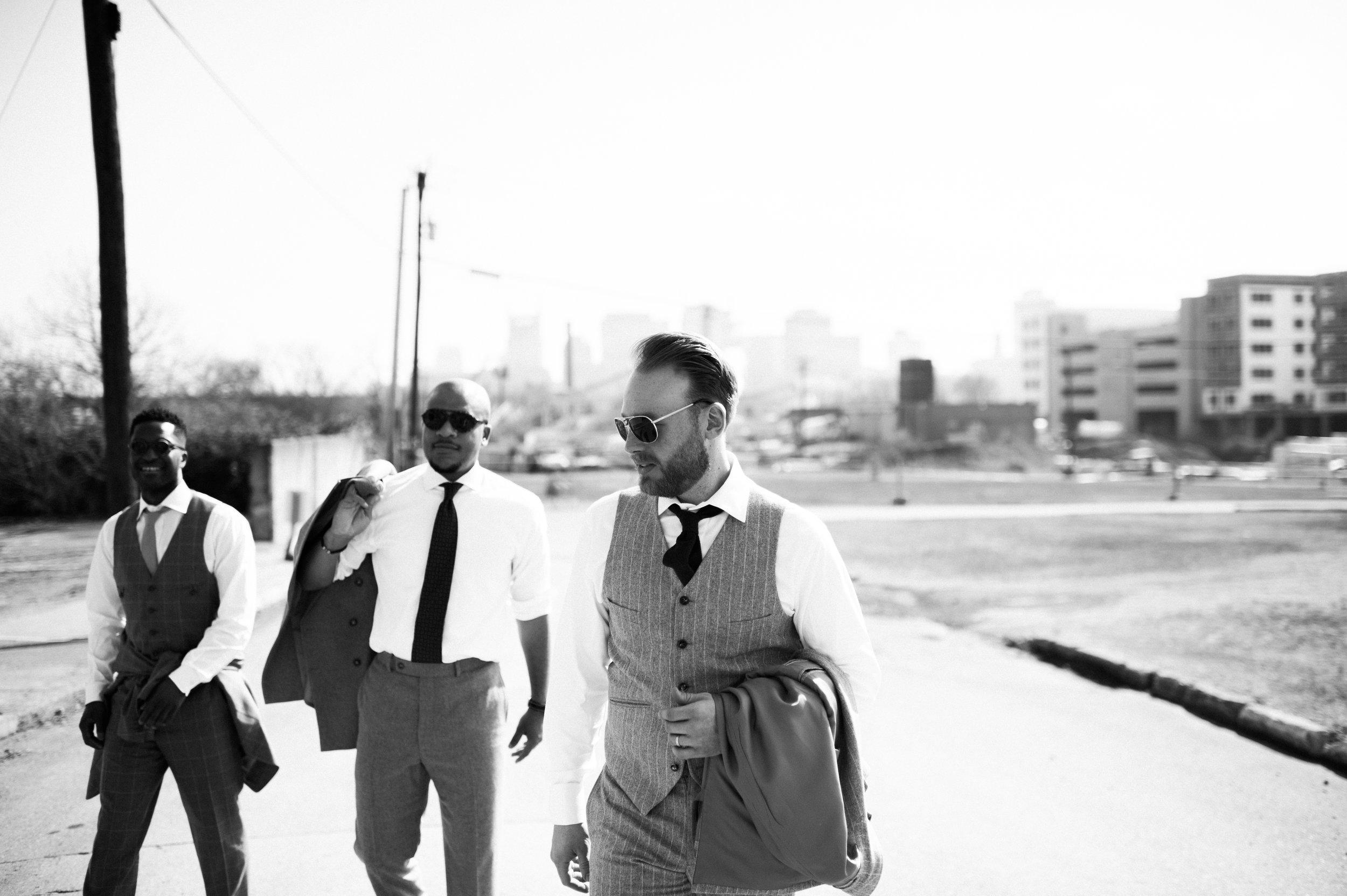 custom grey suit Nashville