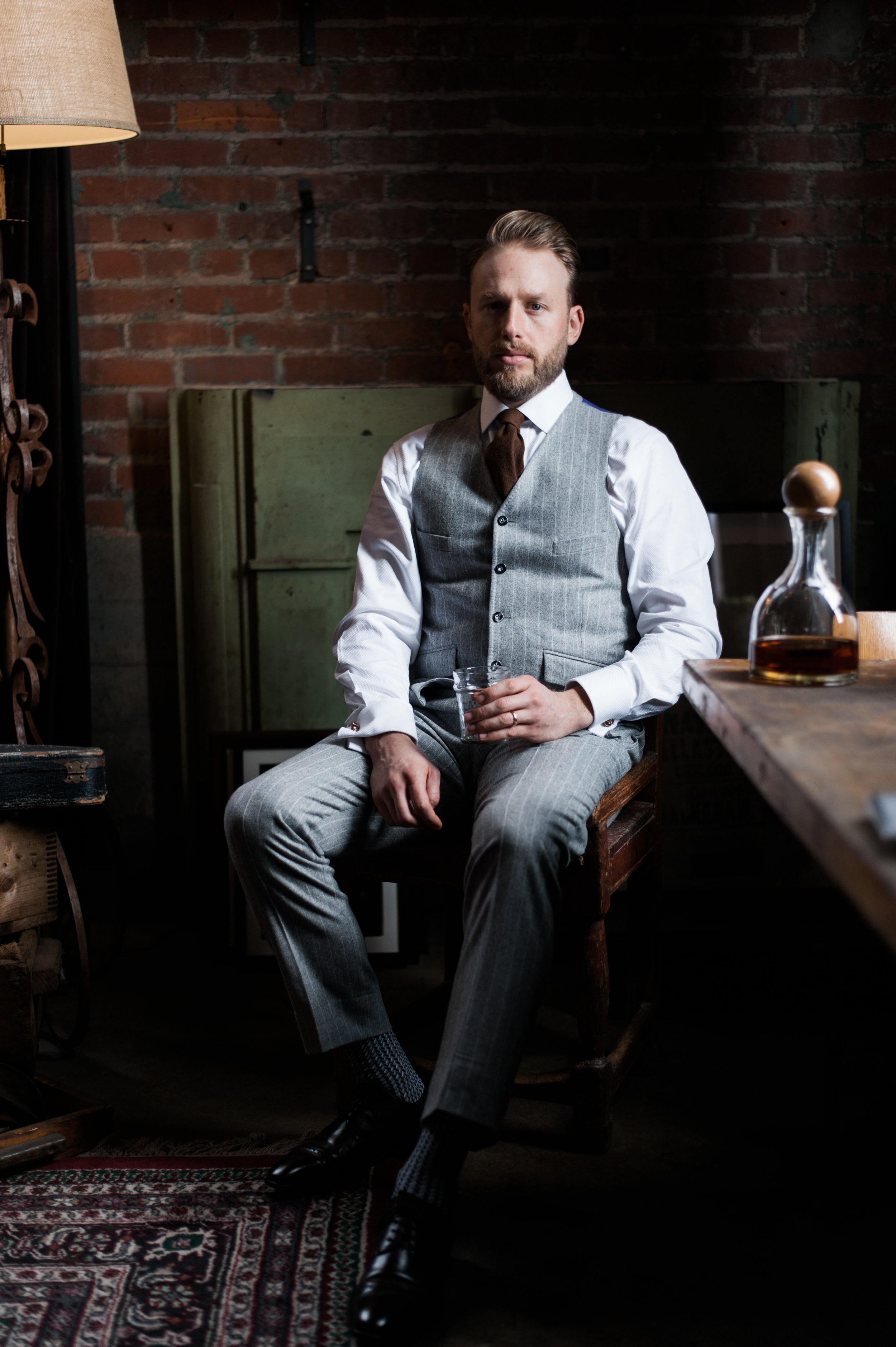 stitch it and co bespoke suit at Peter Nappi Nashville