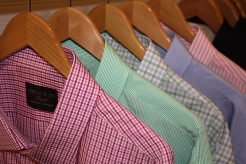 loring and co custom shirts