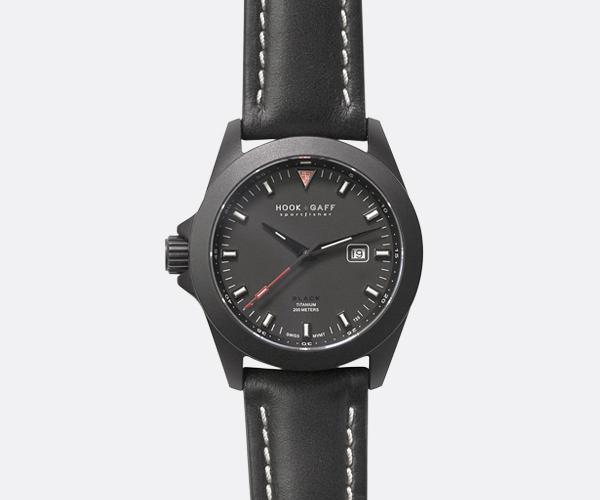 Sportfisher Black – Black Dial