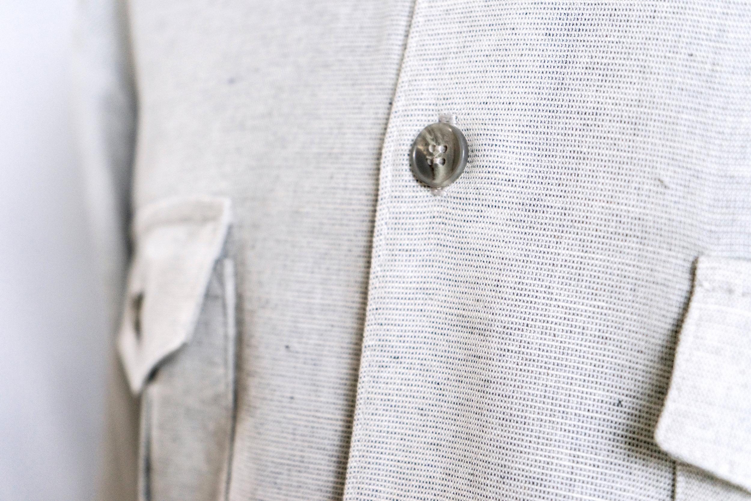 Linen suit fabric