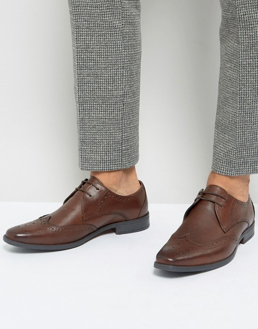 light brown shoes with light gray suit