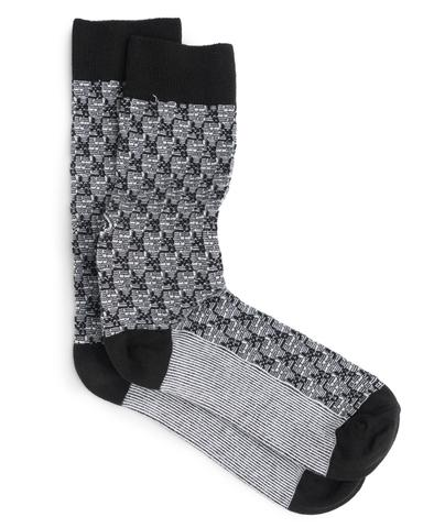 ace and everett holiday gift socks black