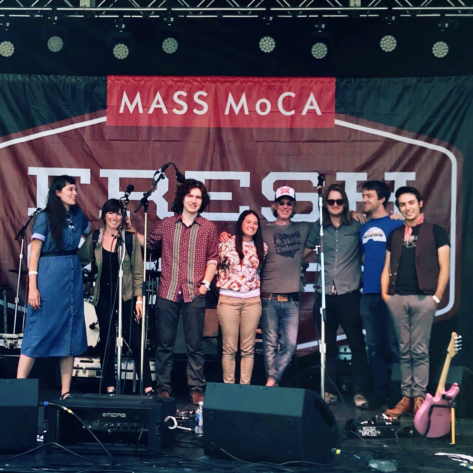 Congratulations to fellow 2019  FreshGrass  Award recipients (from left to right,   Josie Toney     (fiddle) ,    Anna Tivel     (singer/songwriter) , Max Allard  (banjo) ,    Blue Summit     (band) and     Tristan Scroggins     (mandolin) .