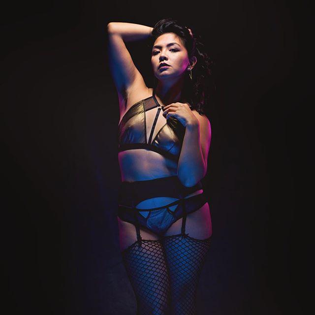 Serving punishment, glamour and body-ody-ody.  510.261.7243 📸: @the_silence_photographer  #worshipme #yesmistress #lingerie #domination #dominatrix #mistress #armpitfetish #armpits #fishnets