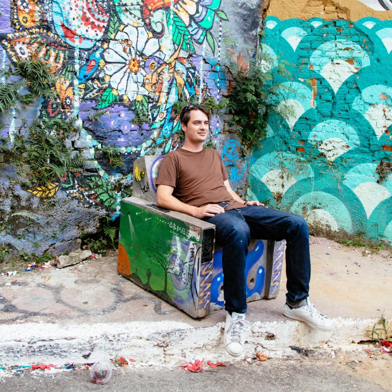 photo - travis schneider   batman alley, sao paolo brazil
