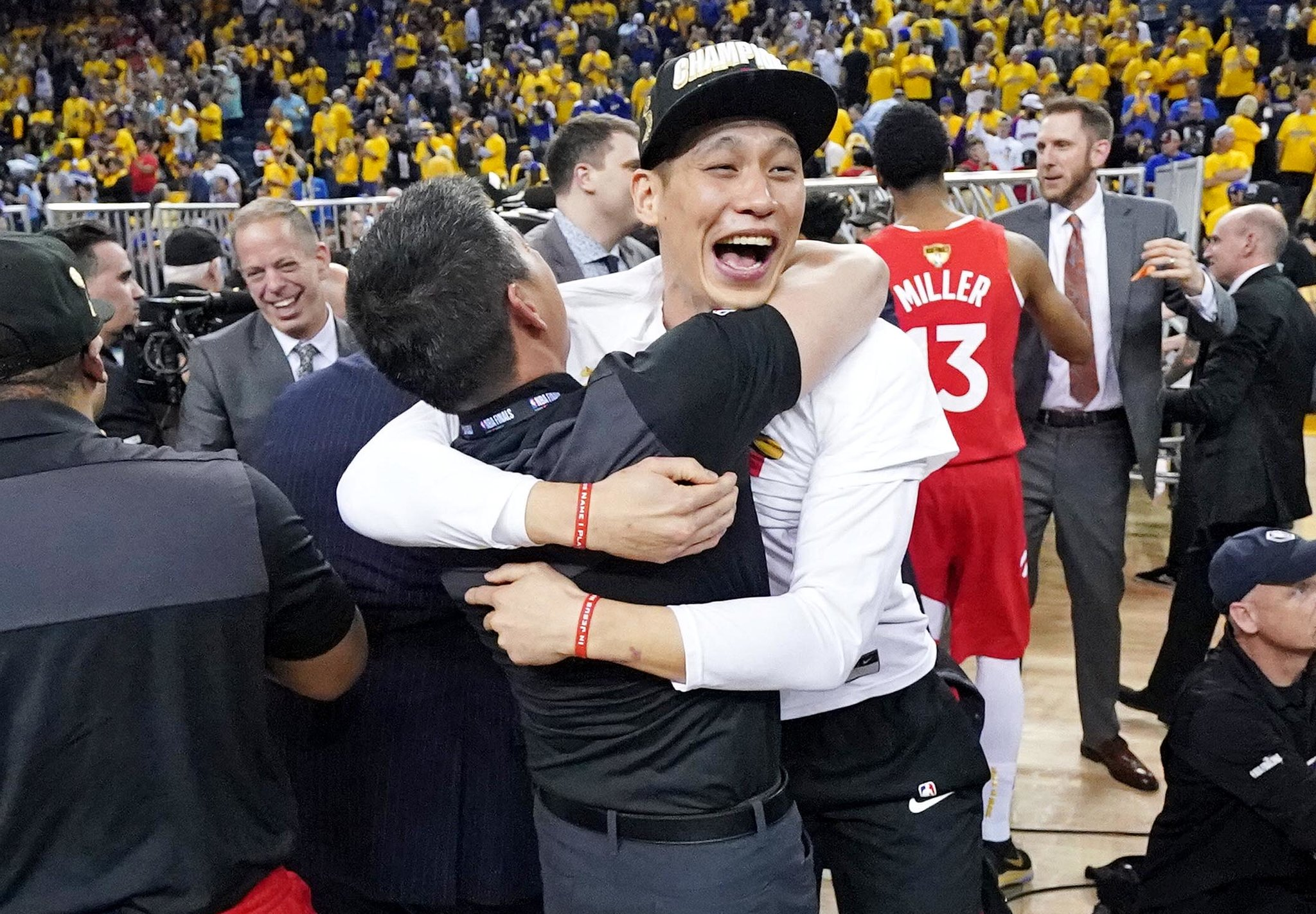 Jeremy Lin, 'Reppin' Asians With Everything I Have,' Is Bigger Than an N.B.A. Title - New York Times, June 2019A personal essay on why Jeremy Lin's N.B.A. championship with the Toronto Raptors means everything to Asian communities around the world, even if he wasn't a major contributor on the court.