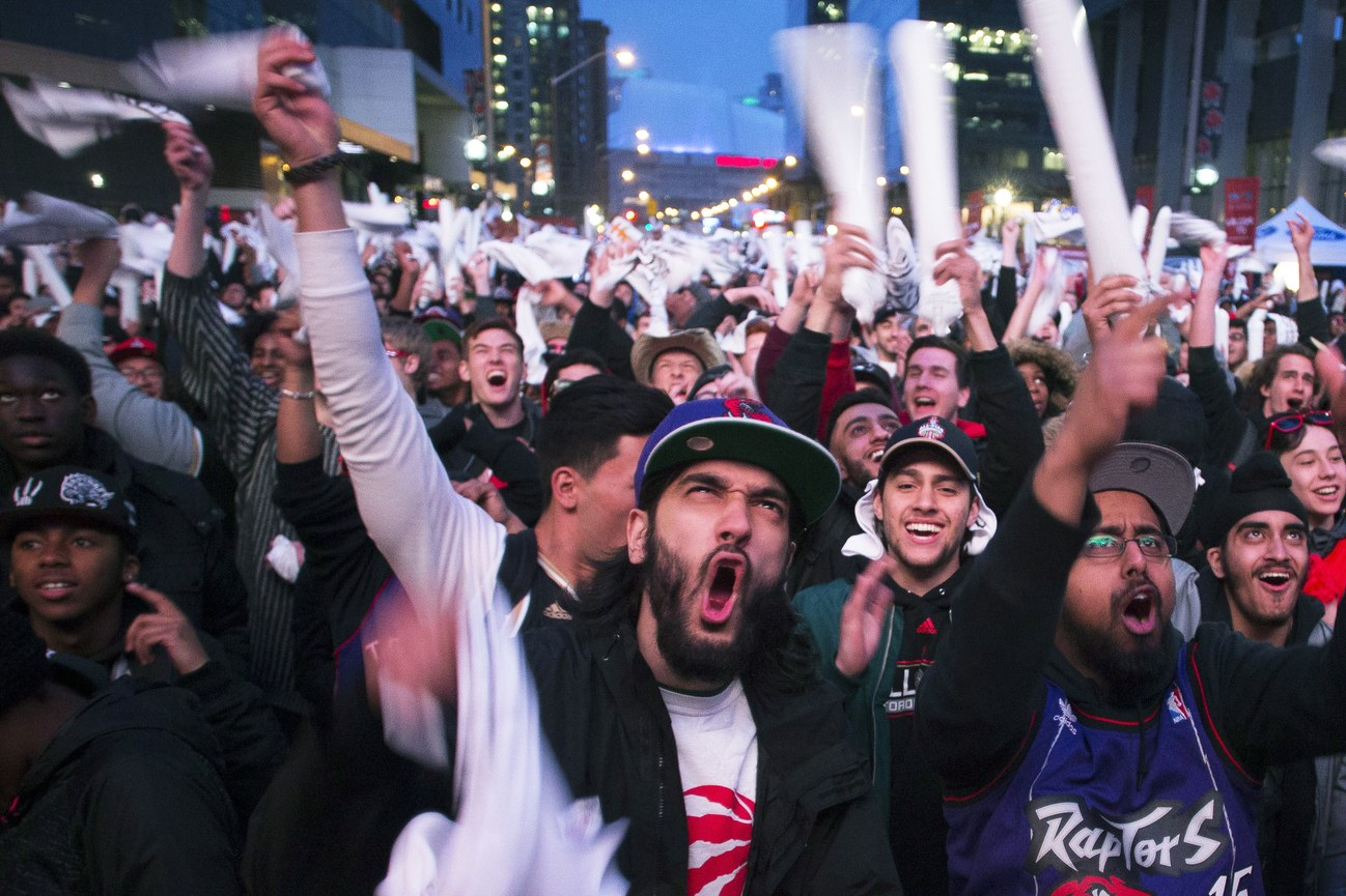 The anxiety and fear of the Toronto Raptors fan - The New Yorker, April 2018tk tk