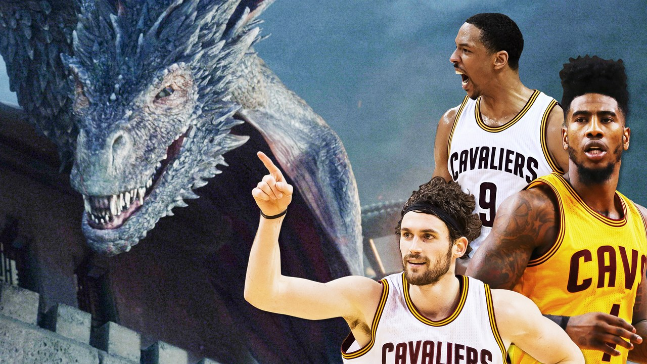 The Game of Thrones Nerds of the Cleveland Cavaliers - GQ, June 2016tk tk