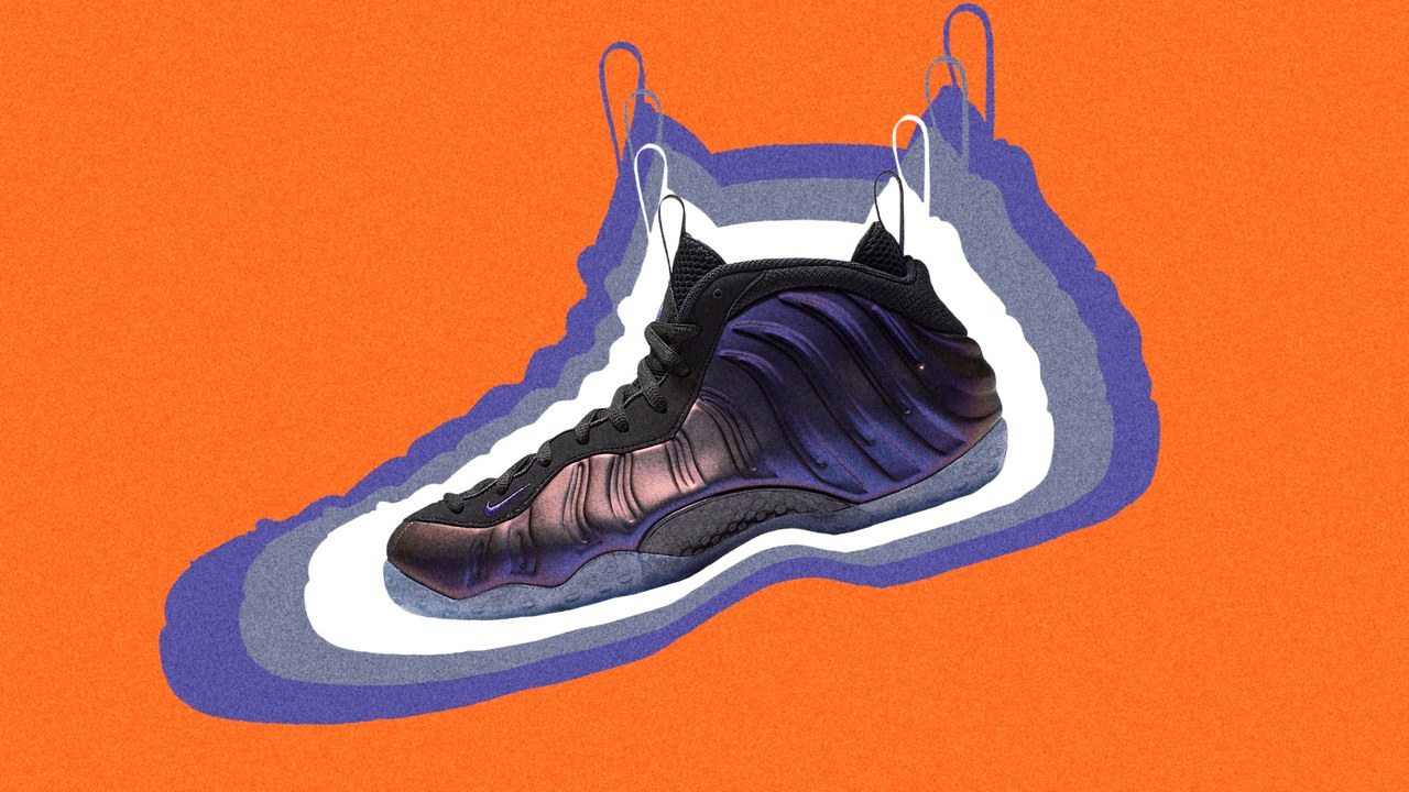 Nike Foamposites are the ugly shoe that everyone loves - GQ, July 2017tk tk