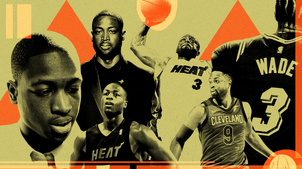 The legacy of Dwyane Wade, according to his friends and teammates - GQ, April 2019tk tk
