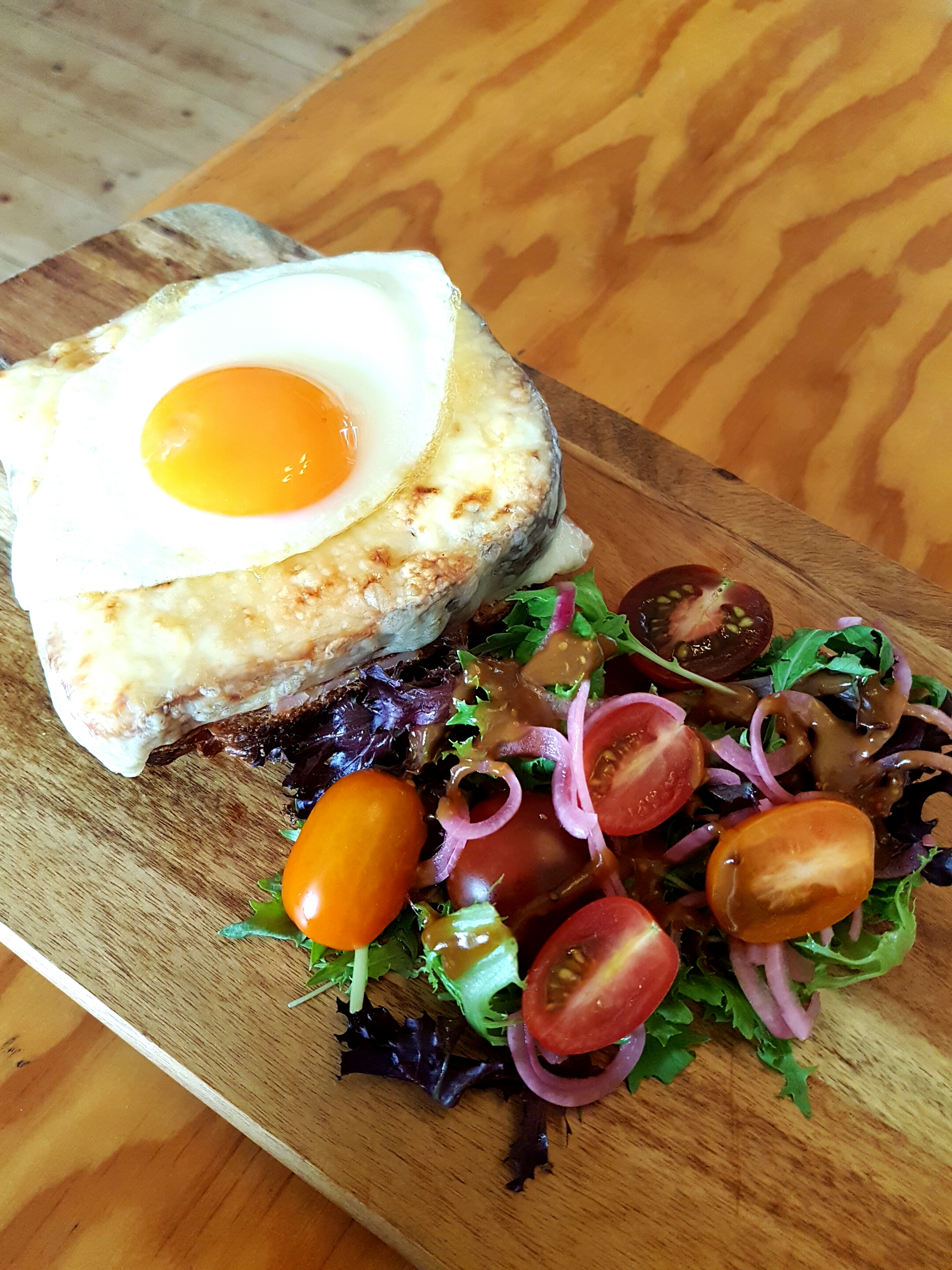 Croque Madame - For breakfast or lunch it's a classic!