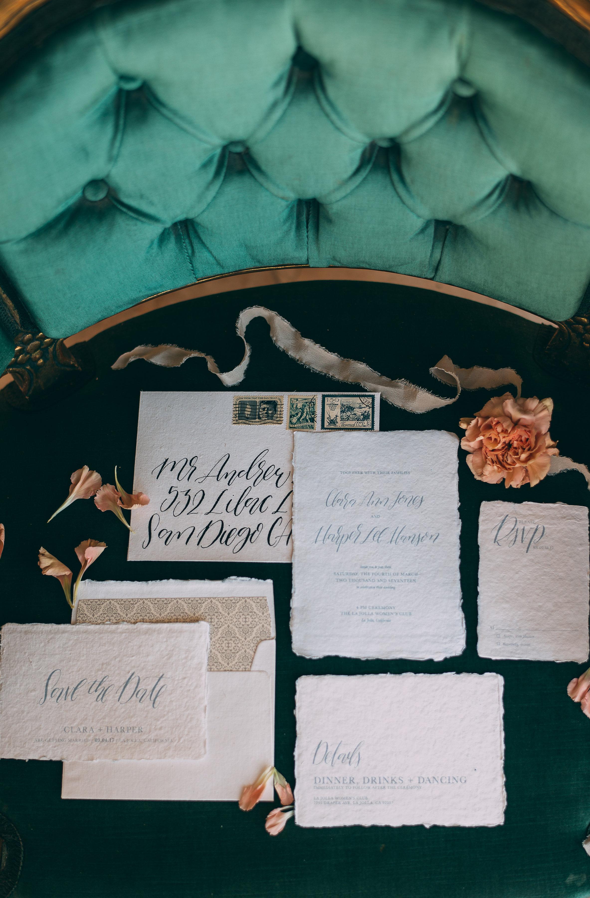 Weddinginvitationsuite