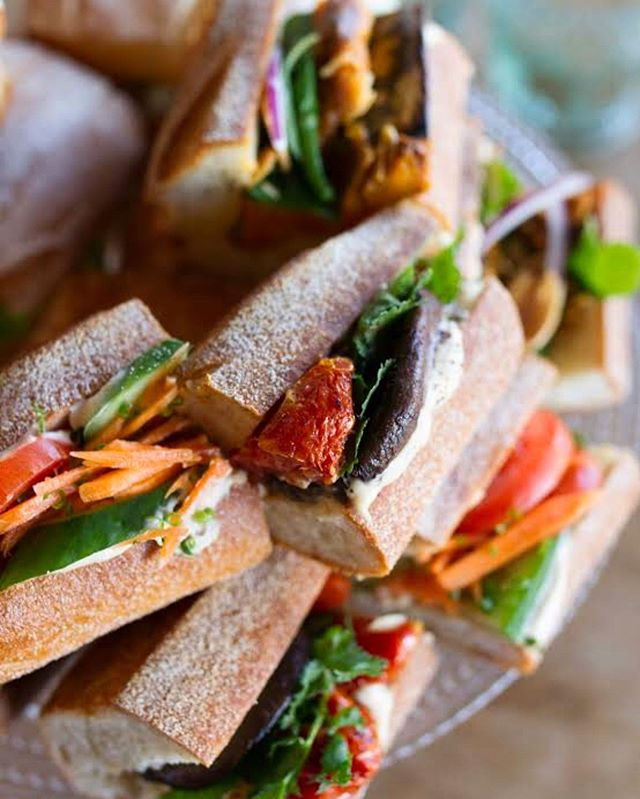 When you need to feed the team - don't go past our baguette platter. Vegetarian & vegan options available. View the catering menu at www.ourkitchenette.com.au