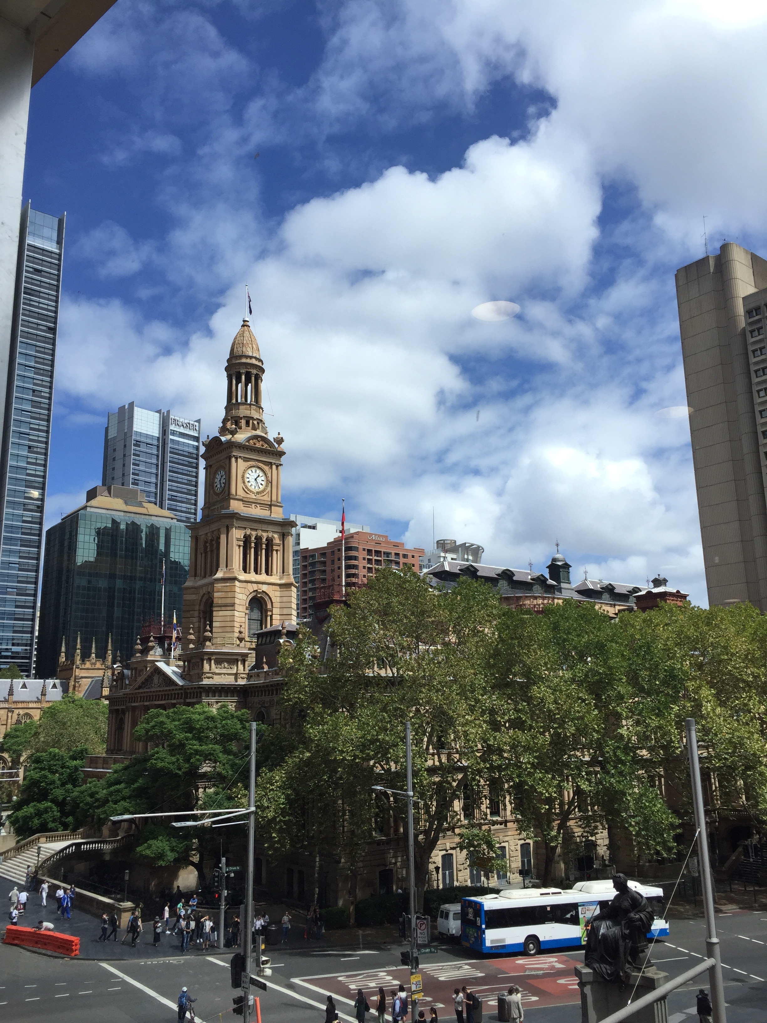 Town Hall - Downtown Sydney