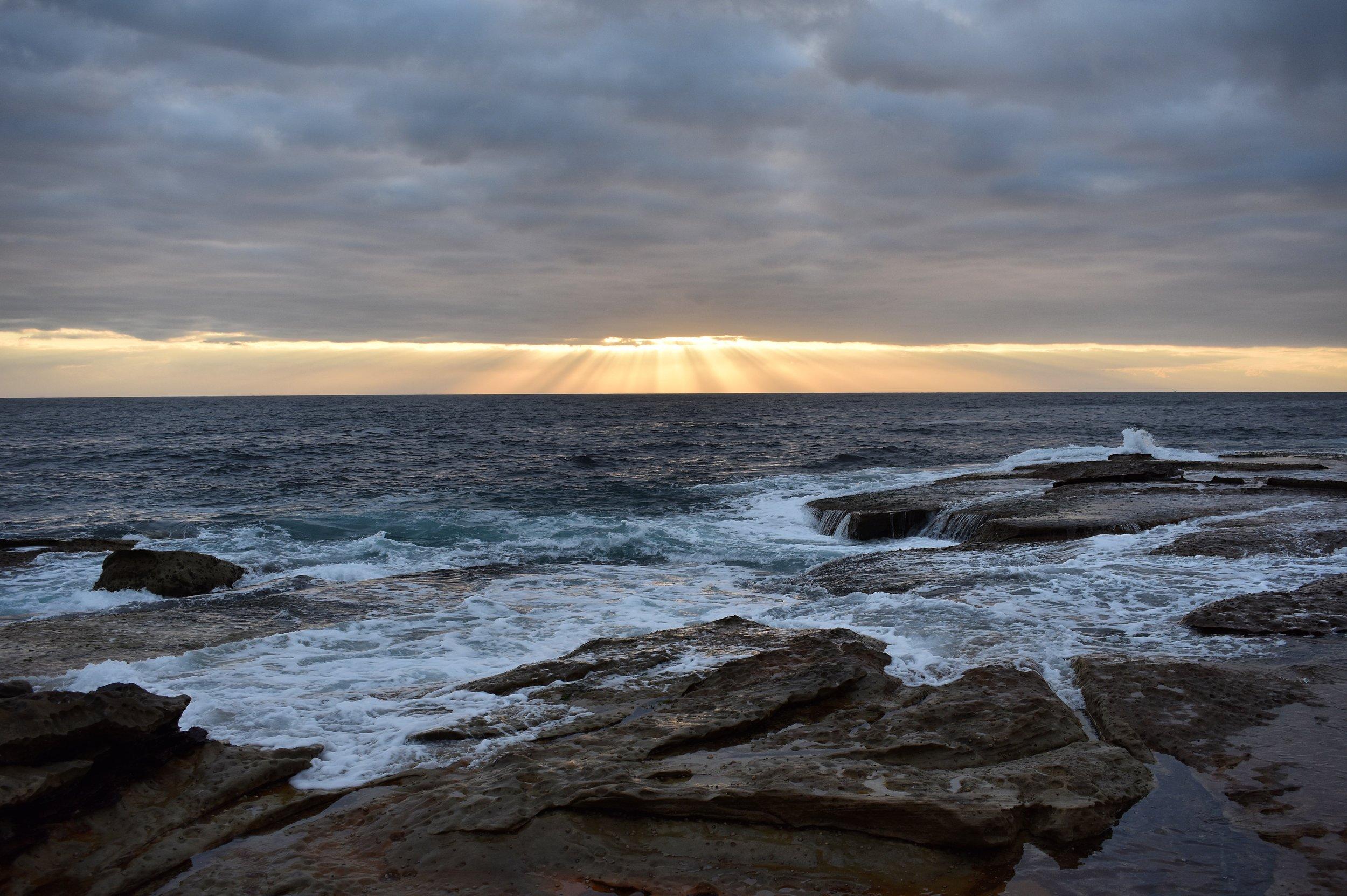 Dee Why Beach at Dawn