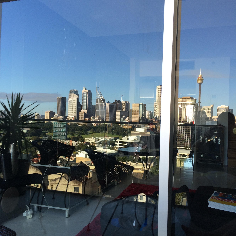 Sydney Skyline Reflection