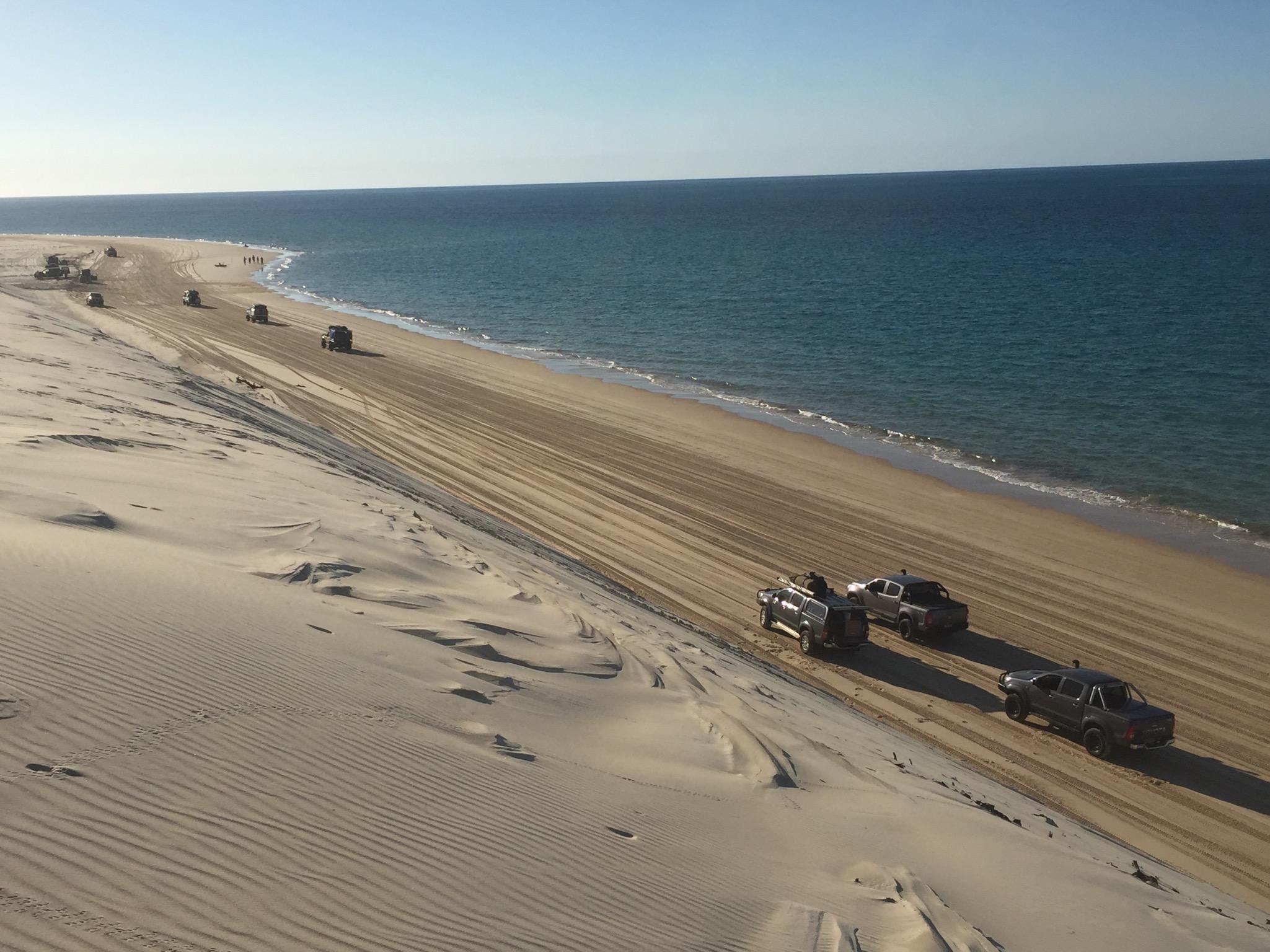 The Dunes on Fraser Island