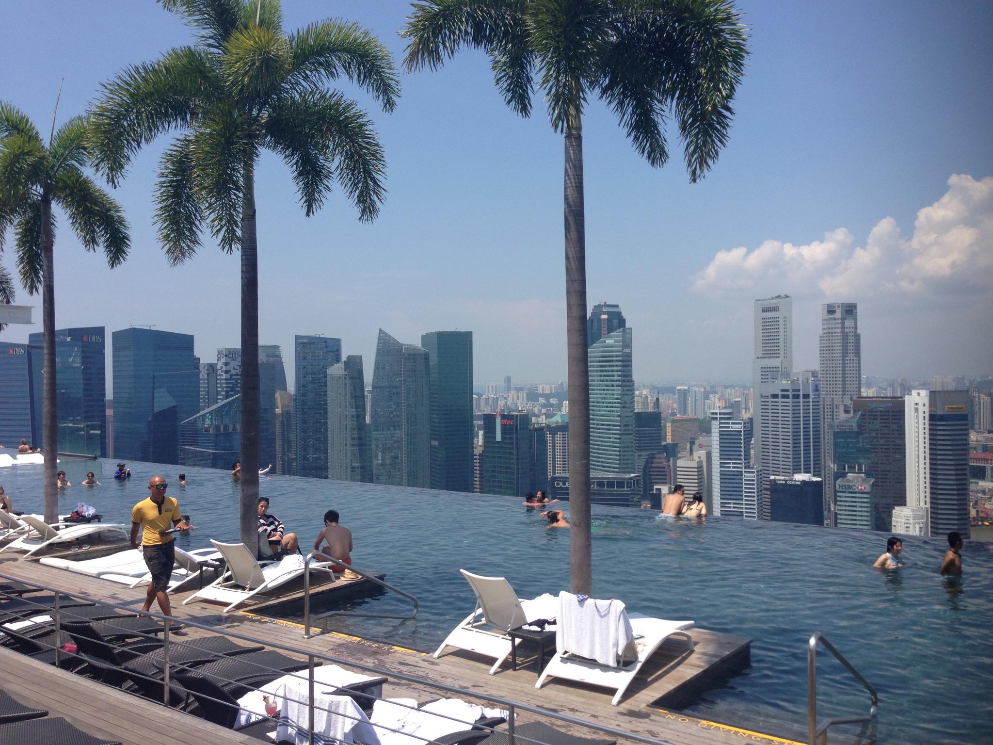 Marina Bay Sands Pool | Singapore