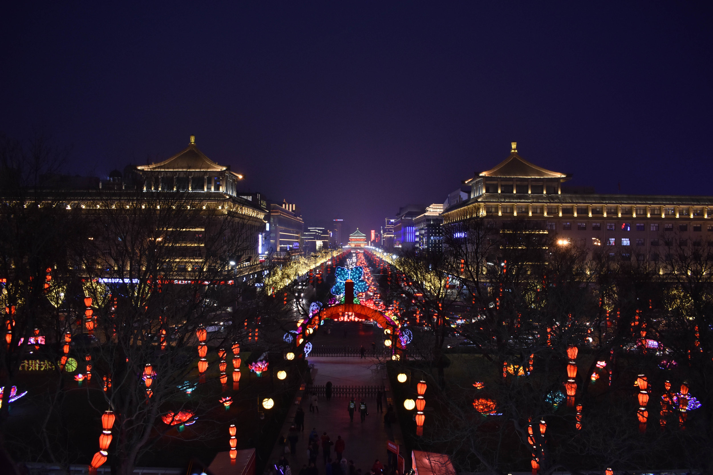 View of Xi'an from the Wall