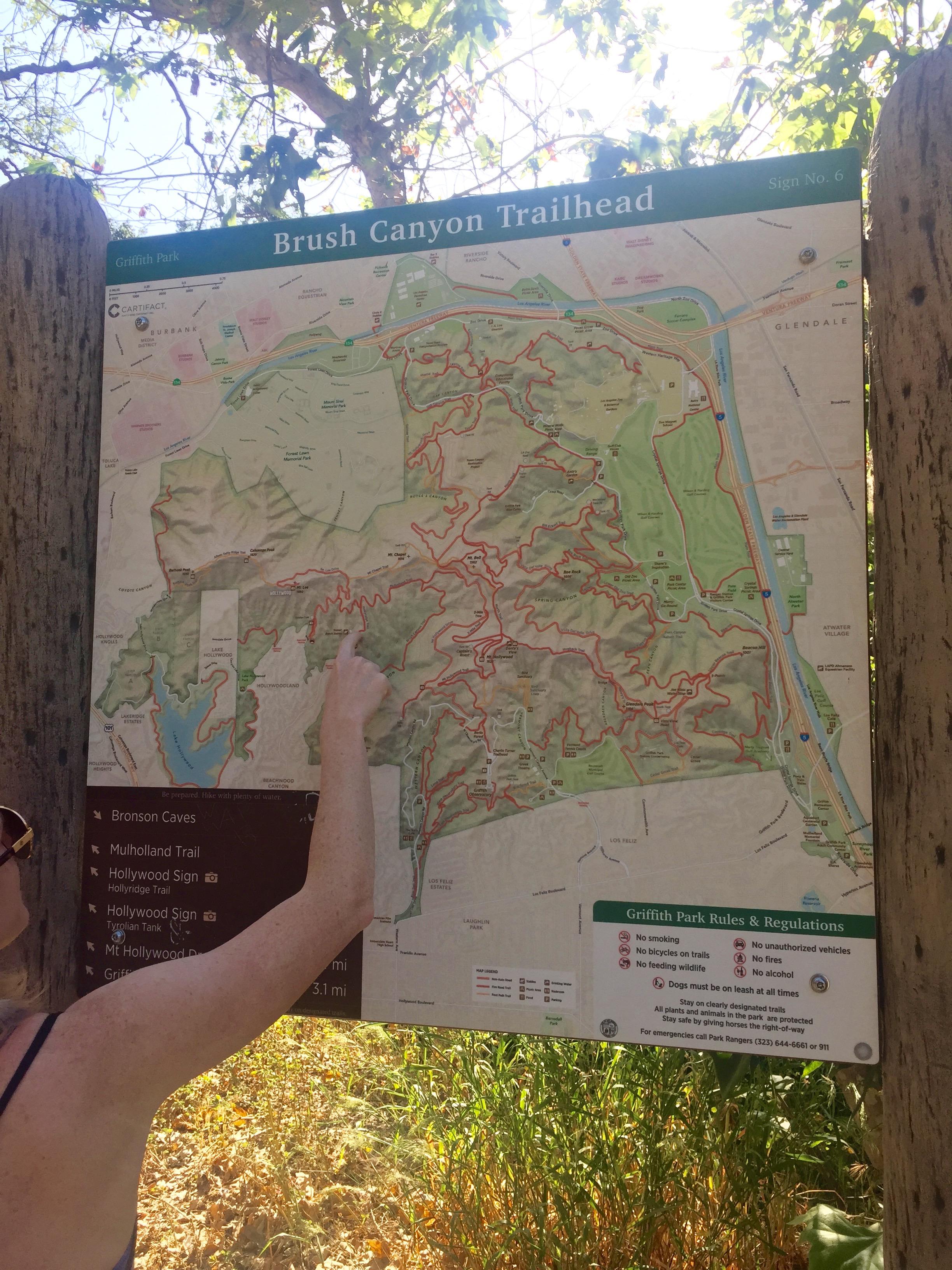 The Trailhead Sign