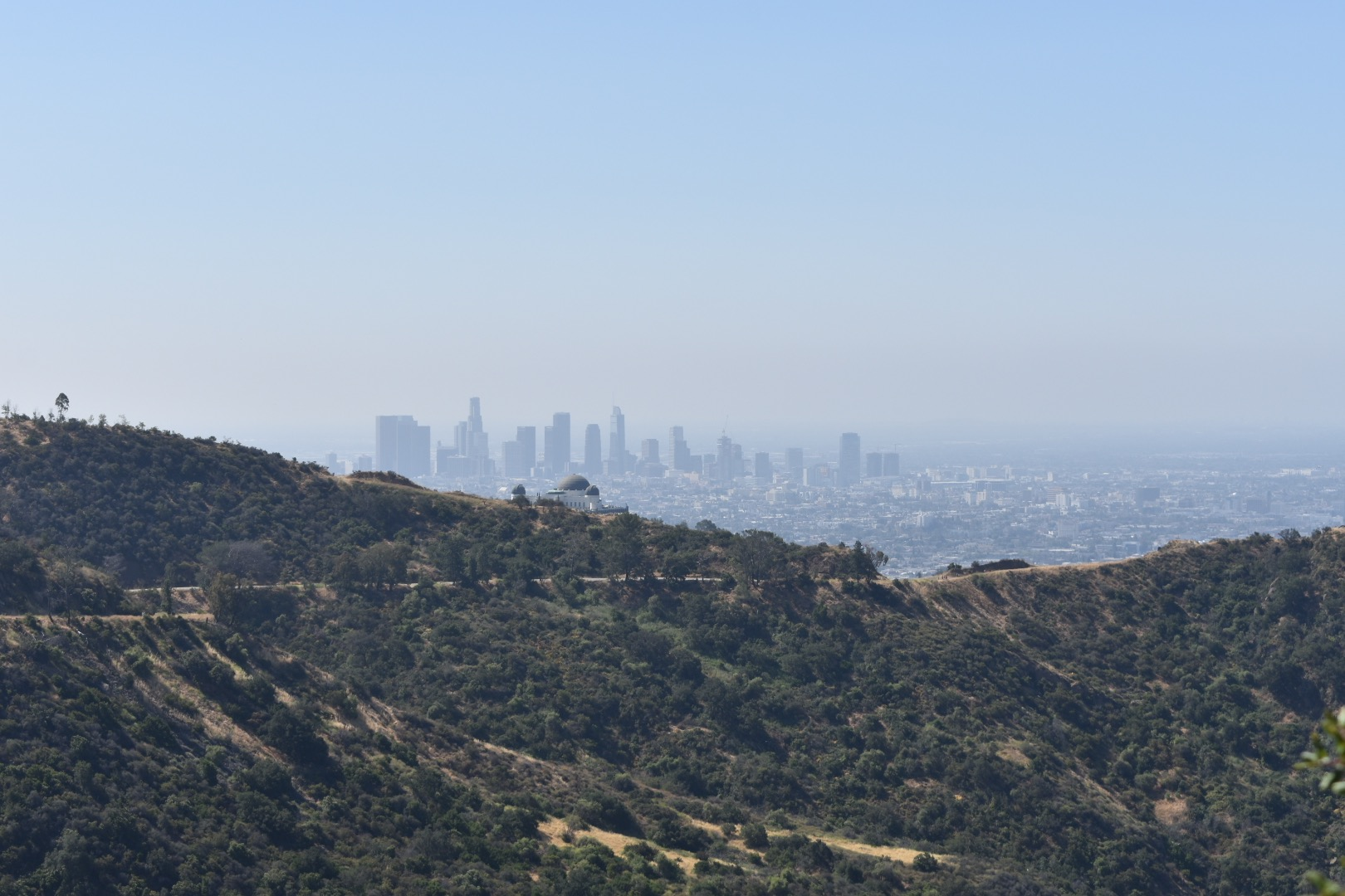 Downtown and Griffith Observatory