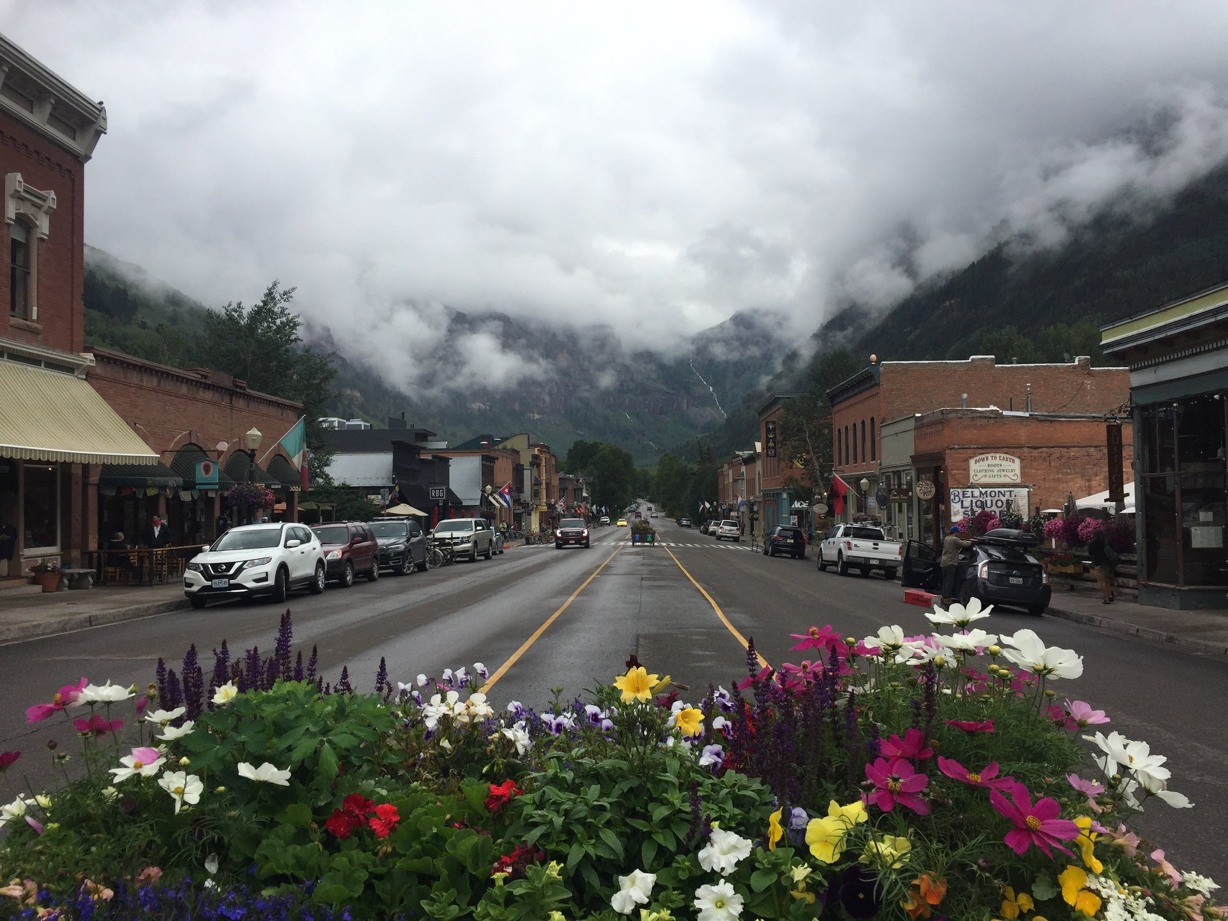 A moist day in Telluride