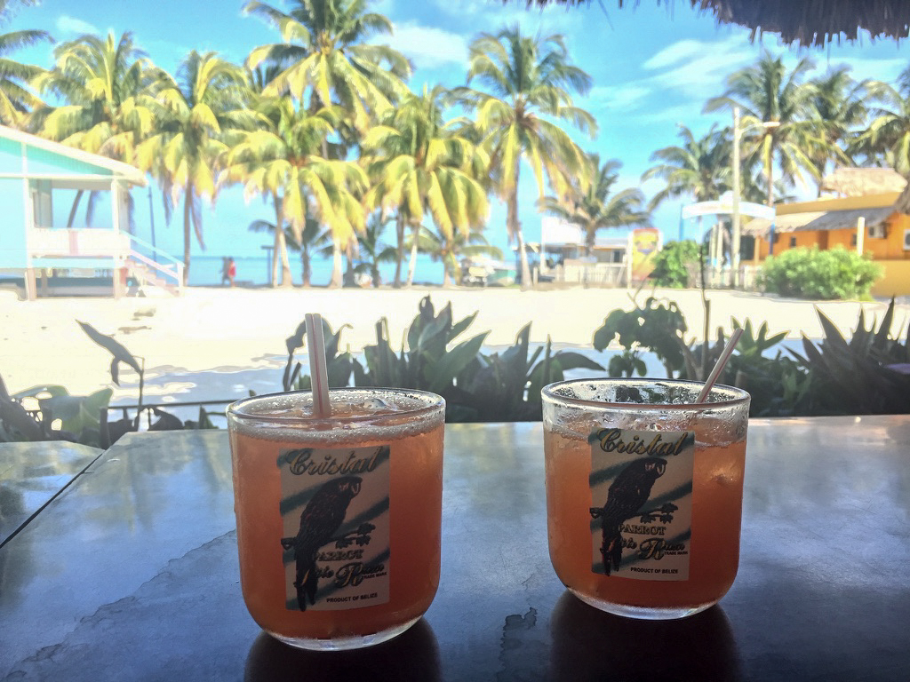 Rum Punch on the Beach