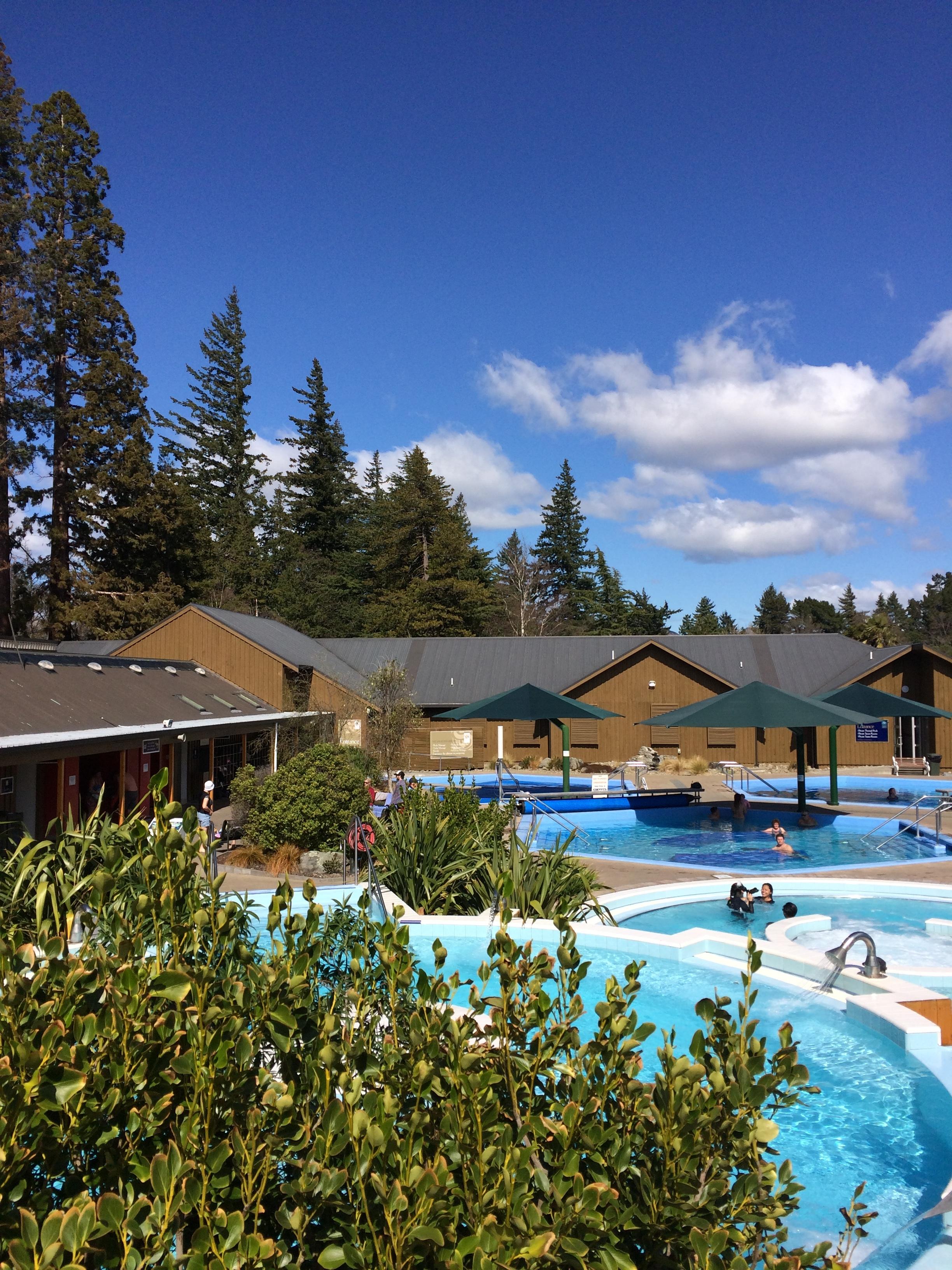 The Hot Pools in Hamner Springs