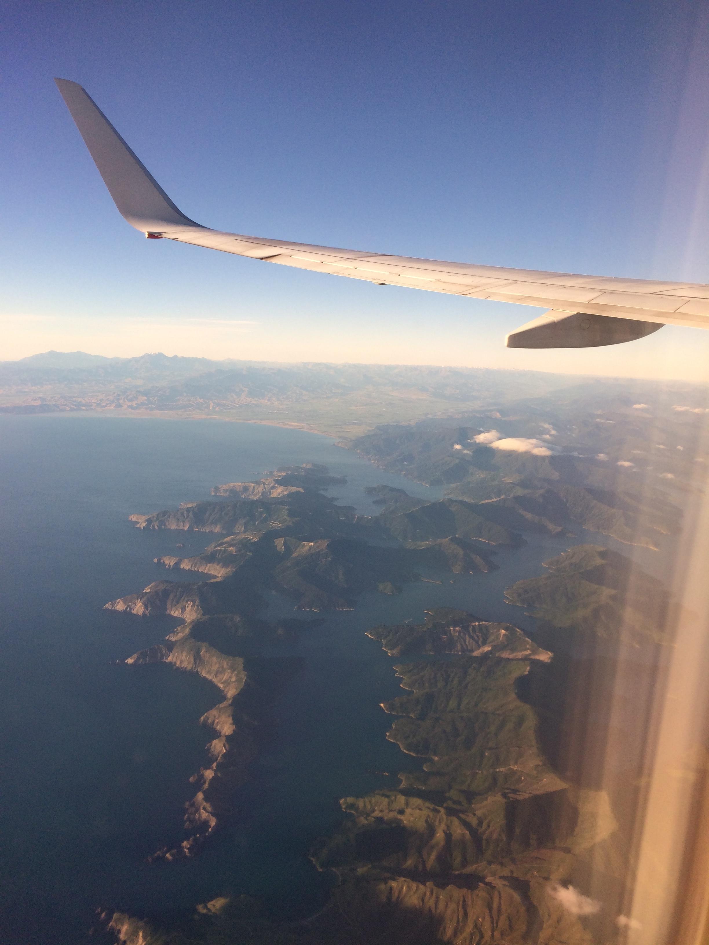 Marlborough From the Air