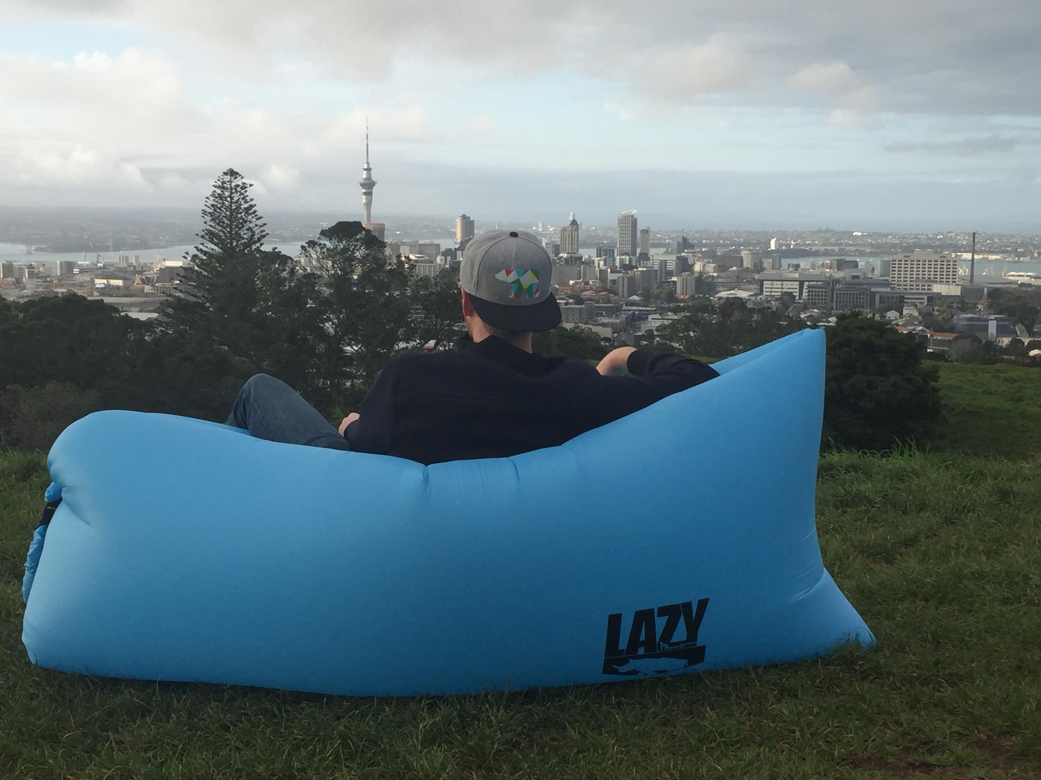 Auckland as seen from Mt Eden