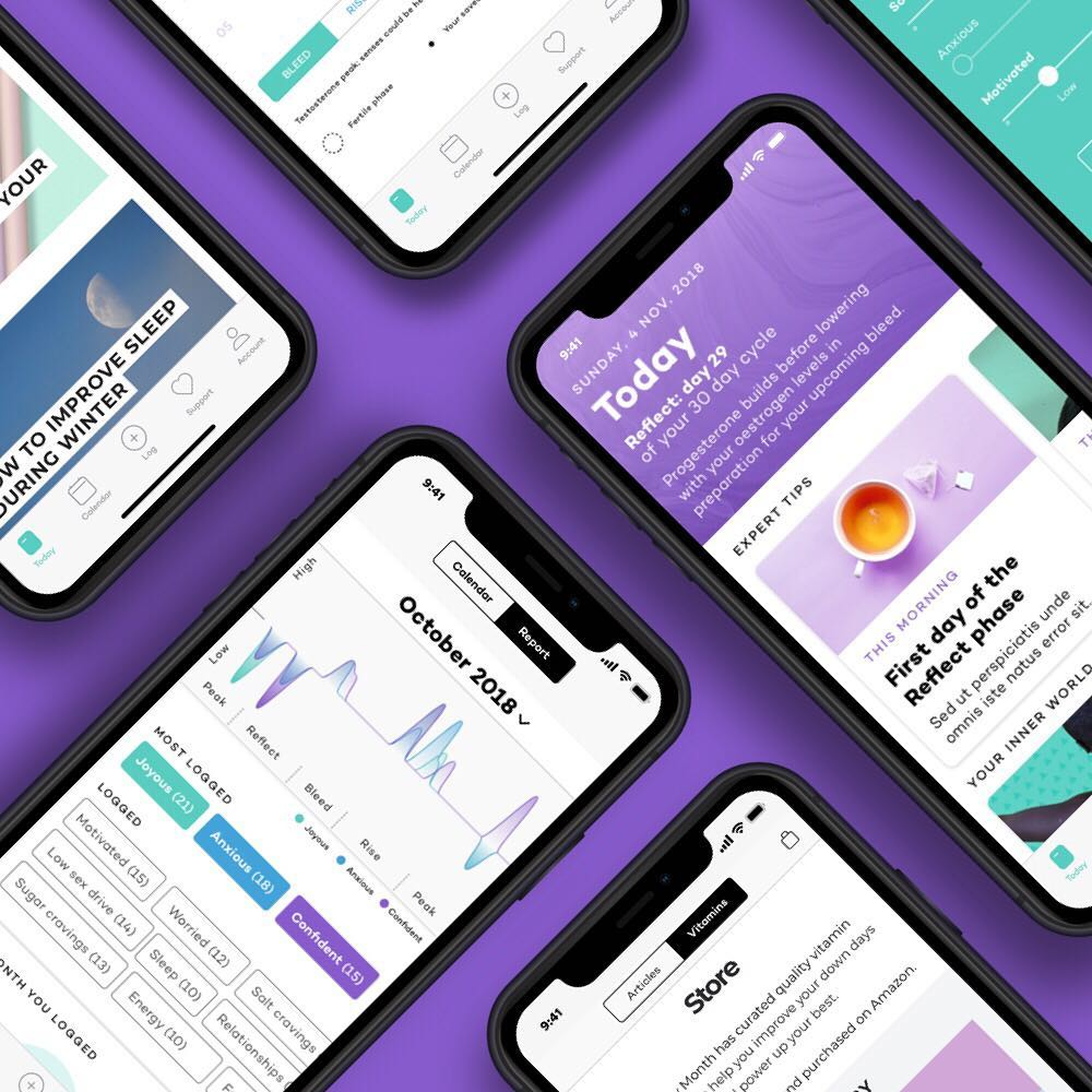 CASE STUDY: MOODY MONTH APP - DELIVERABLE: Scientific DossierOpportunityMoody Month is the first women's health app that aims to look at the entire ecosystem of a woman in the 21st century.The app helps women track their menstrual cycles through information entered by the user, with its outputs being insights, recommendations and identified patterns related to the women's menstrual cycle and physical environment. Information from the app is then used exclusively by academics to stimulate research on women's health.ProcessInteraction with the client occurred over a 6 month period, this included project confirmation, running time and handover. Initial communications confirmed the client's macro requirement of general scientific guidance for both front and back-end development of the app. Specifically, this entailed guiding them on what questions they should be asking their users, what insights and recommendations the app should display and development of industry and academic-compliant ethics.The clients need for general scientific guidance led us to carry out an initial research phase to identify the relevant areas in science and humanities; this in turn formulated our macro thesis for the project: What does it mean to be a women in the 21st century? This thesis orientated our secondary research phase, resulting in a set of graphically designed 'scientific maps' which informed the client on the menstrual cycle from a neuroscientific perspective. The maps afforded the client a deeper understanding of the functioning of the menstrual cycle in relation to both internal and external environmental factors. A standardised and scientifically approved user-interface format was also designed for front-end use. In addition to this, ethics were co-written and approved in accordance to UCL and GDPR guidelines.Outcome// Scientific maps to educate the entire team of the biological ecosystem of women.// A lexicon of neurobiological definitions, detailed explanations of endocrine sy