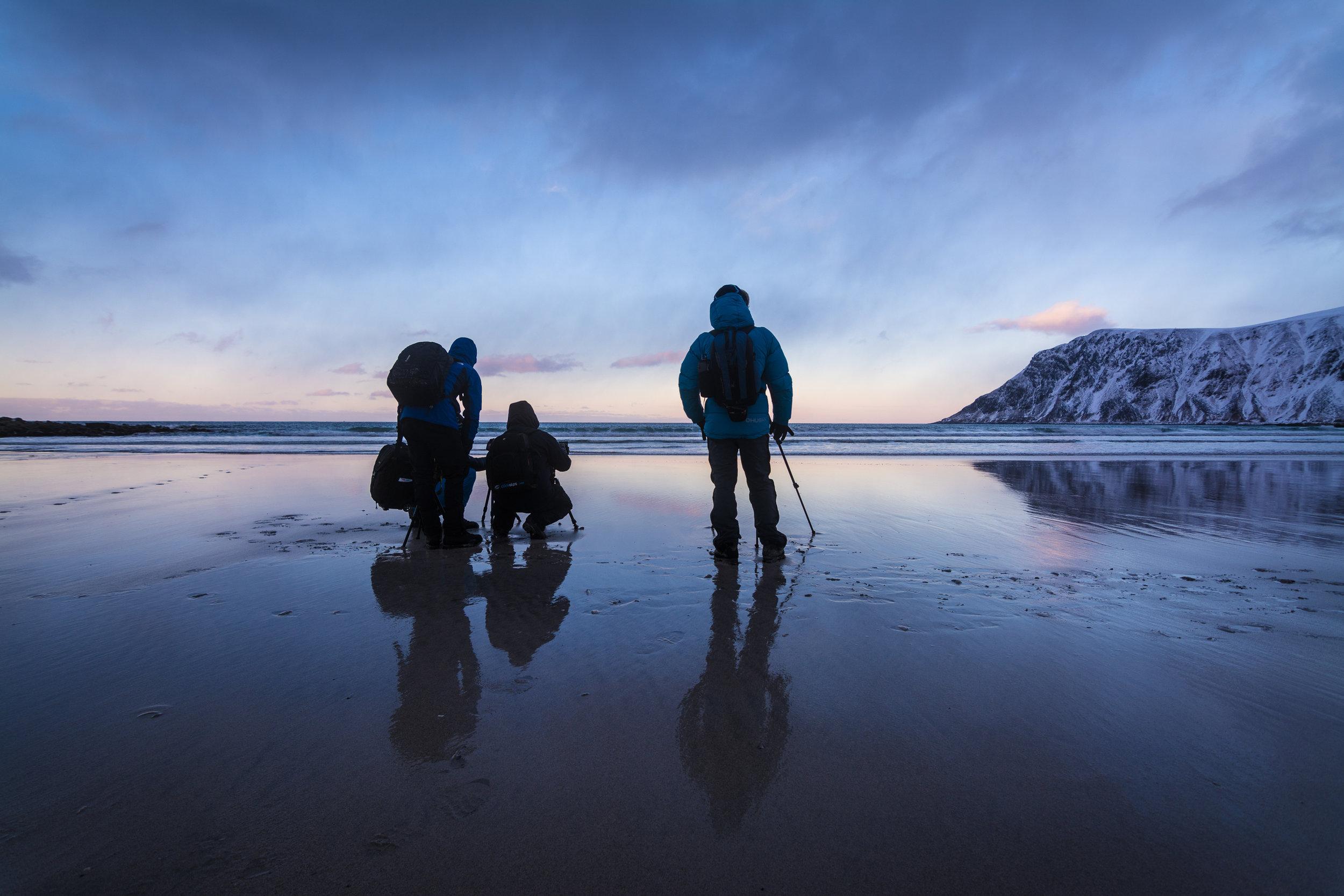 Workshop i Lofoten med fotograf Bjørn Joachimsen 2018. ©Bjørn Joachimsen
