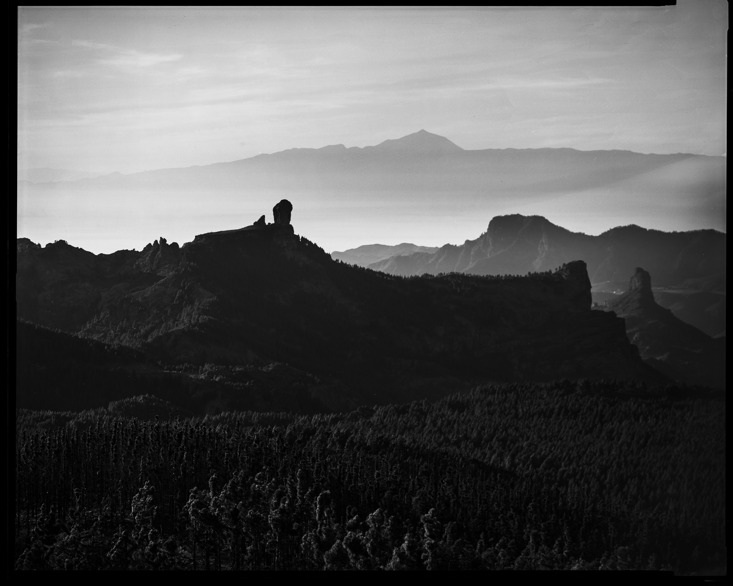 Utsikt fra Pico de Las Nieves, Gran Canaria. ©Bjørn Joachimsen.