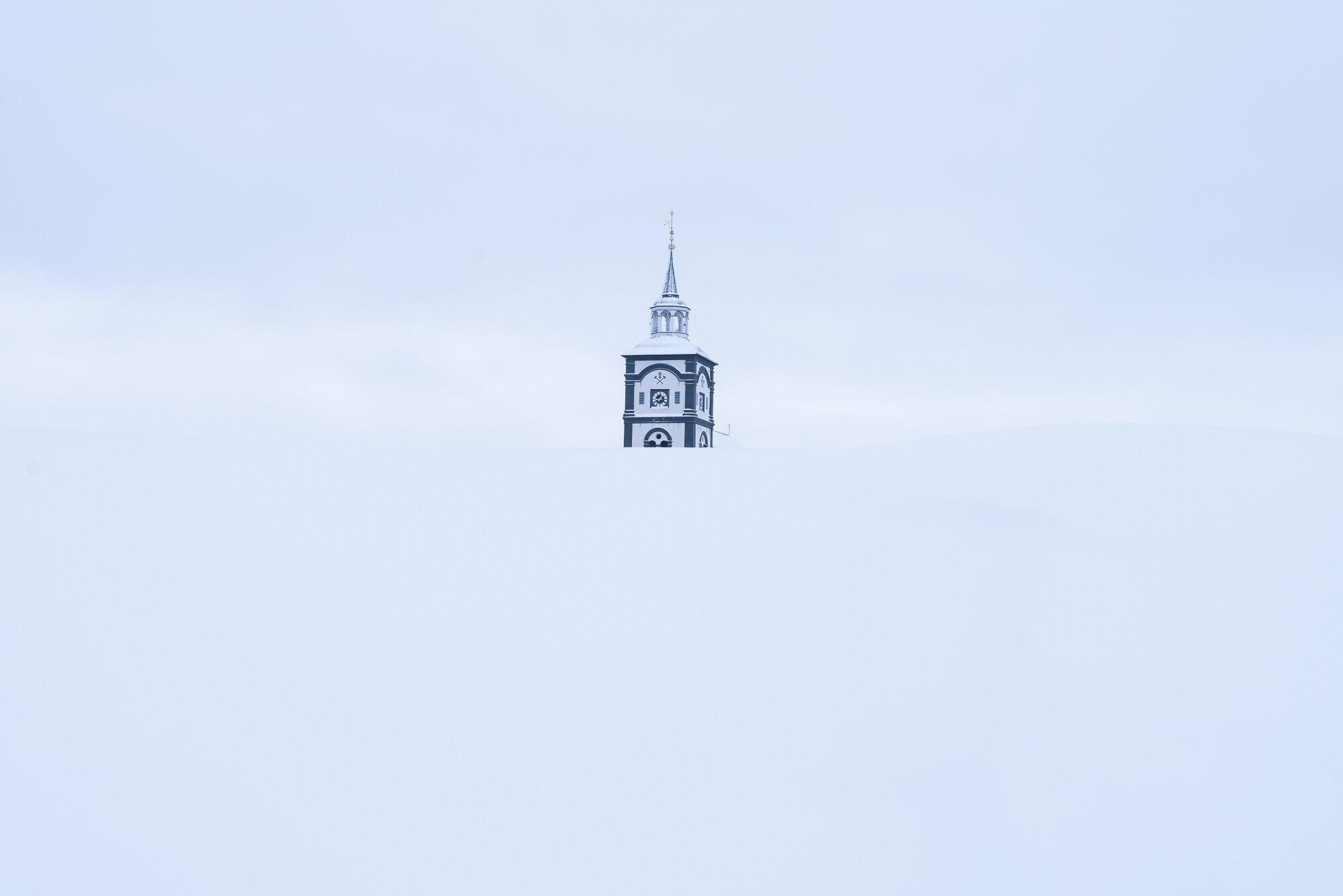 Vinter på Røros. ©Bjørn Joachimsen.
