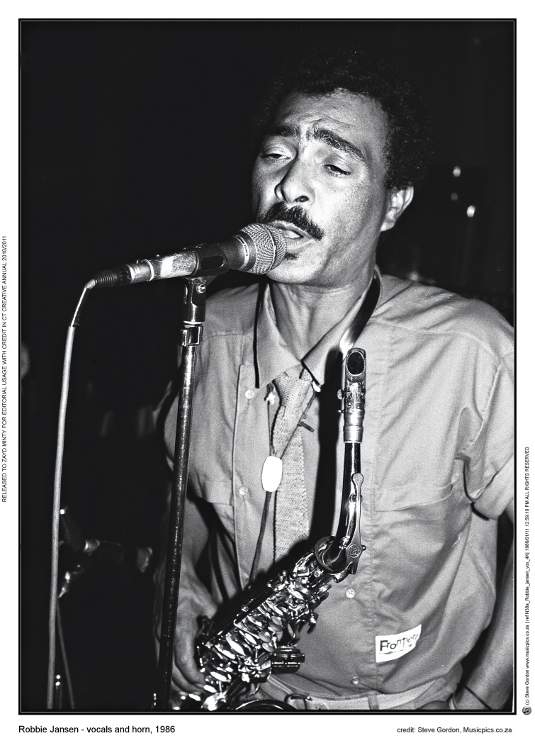 Robbie Jansen, a musician synonymous with Cape Jazz, who died in relative poverty. Image by Steve Gordon.