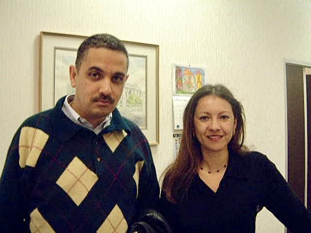 Delecia Forbes and Ahmedi Vawda 2002