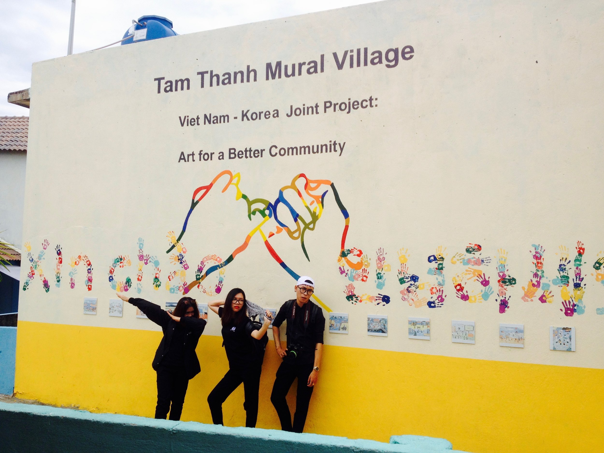 The First Mural Village in Vietnam — Creative City South