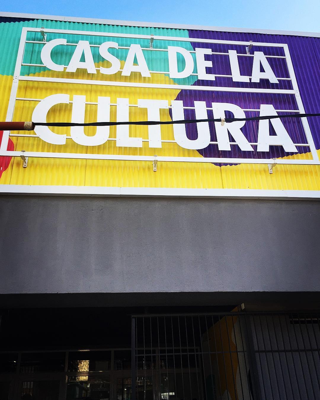 The Cultural Centre run by the city in Casa De La Cultura