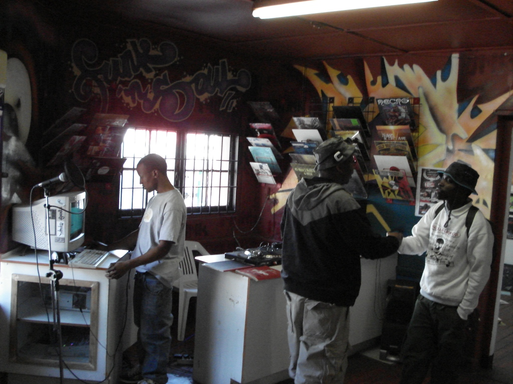 Ritual Clothing: A streetwear retailer which provided a space for young DJs Graffiti artists and others to express themselves, both within the shop and in the surrounding area (2007).